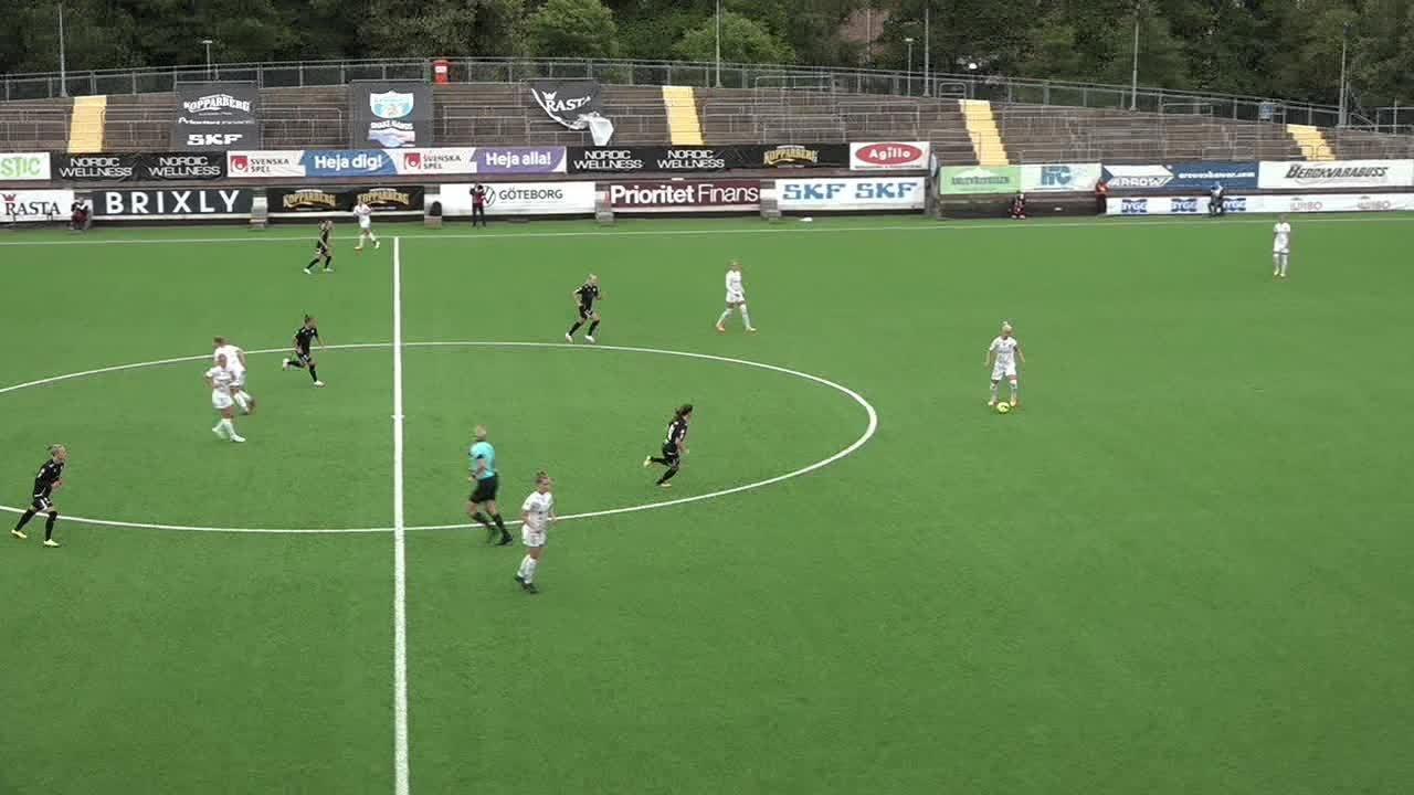 Highlights: Kopparbergs/Göteborg - Rosengård 30 juli