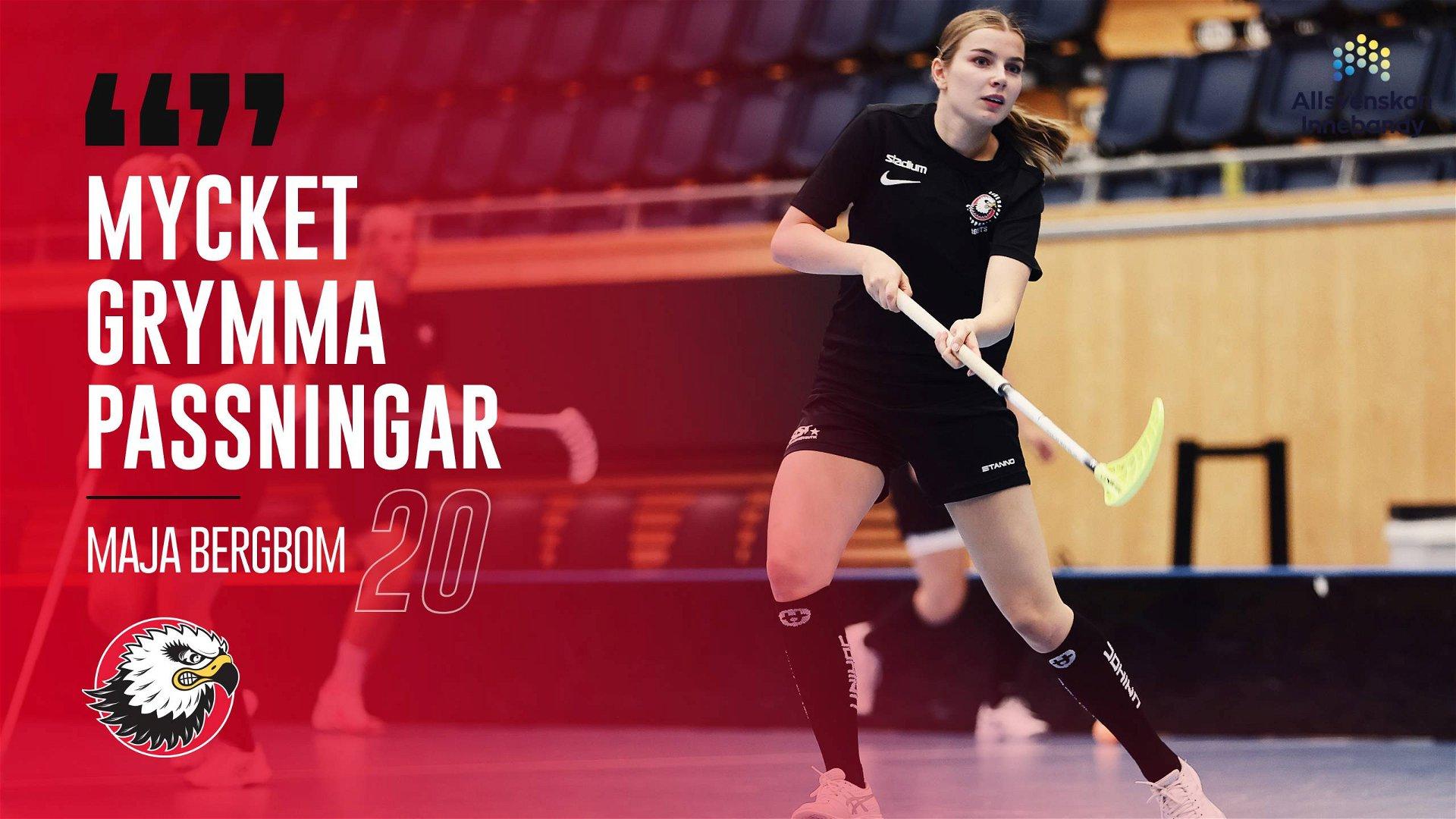 """Maja Bergbom """"Det krävs mycket"""""""