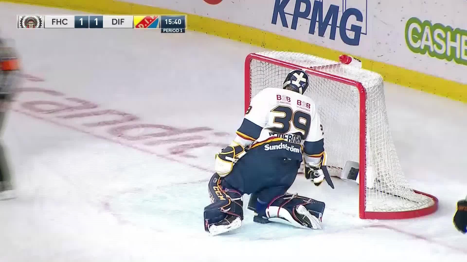 Frölunda HC - Djurgården Hockey 1-1