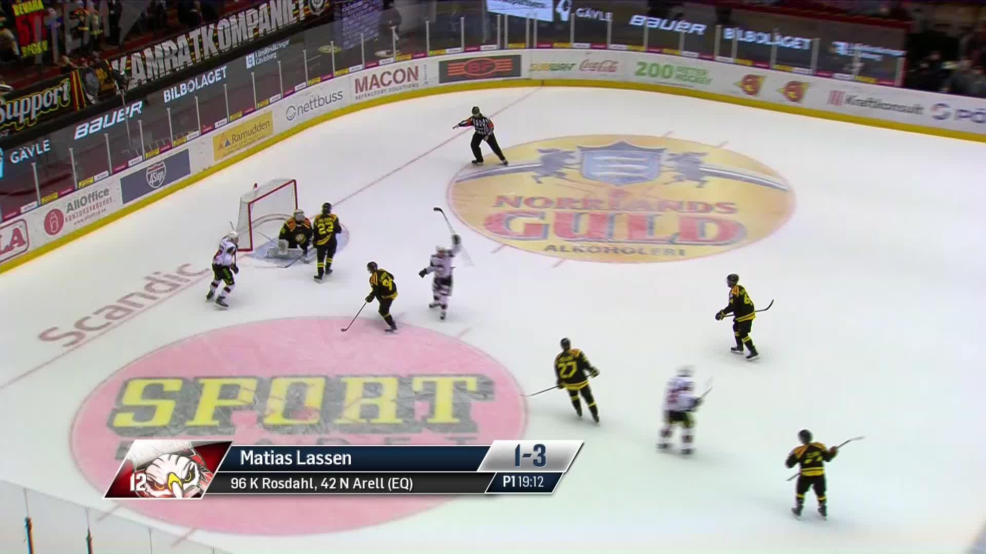 Brynäs IF - Malmö Redhawks 1-3