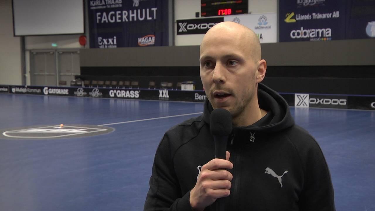 Intervju med coach Alexander Bergström inför Kvartsfinal 1