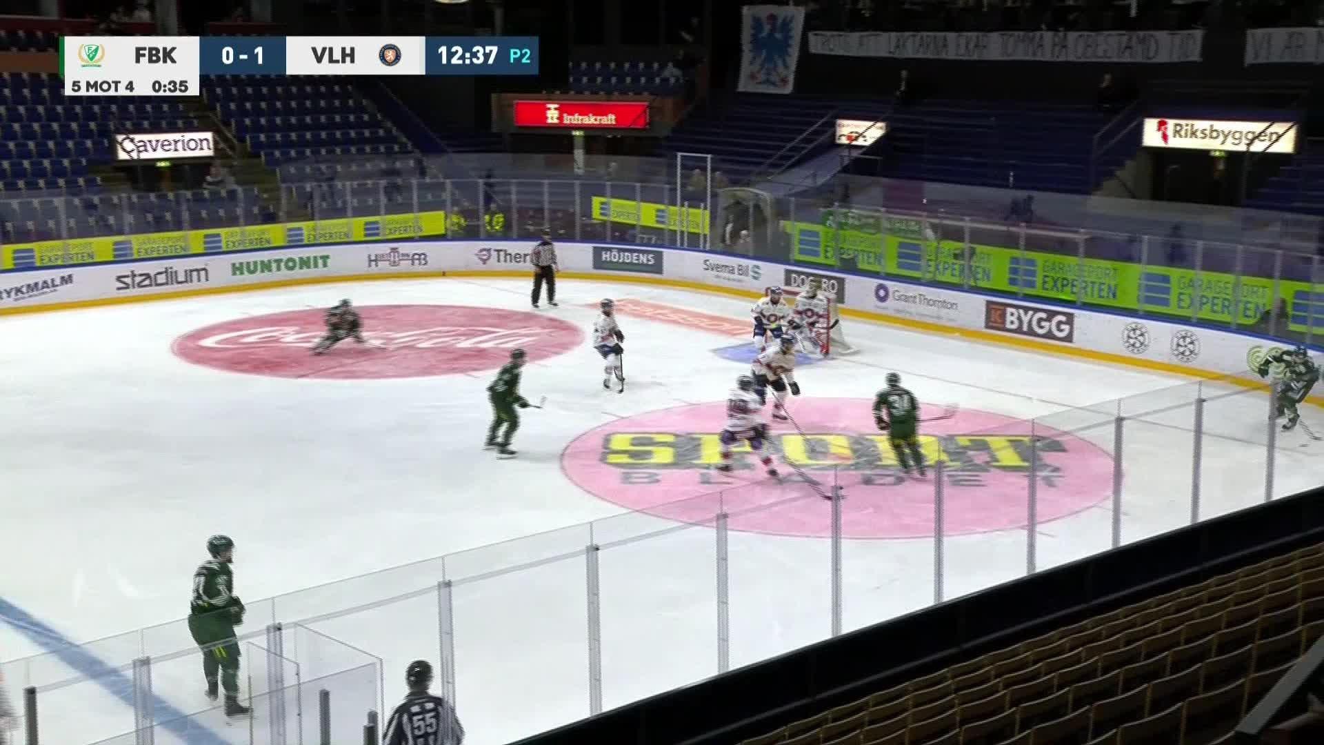 Färjestad BK - Växjö Lakers 1-1