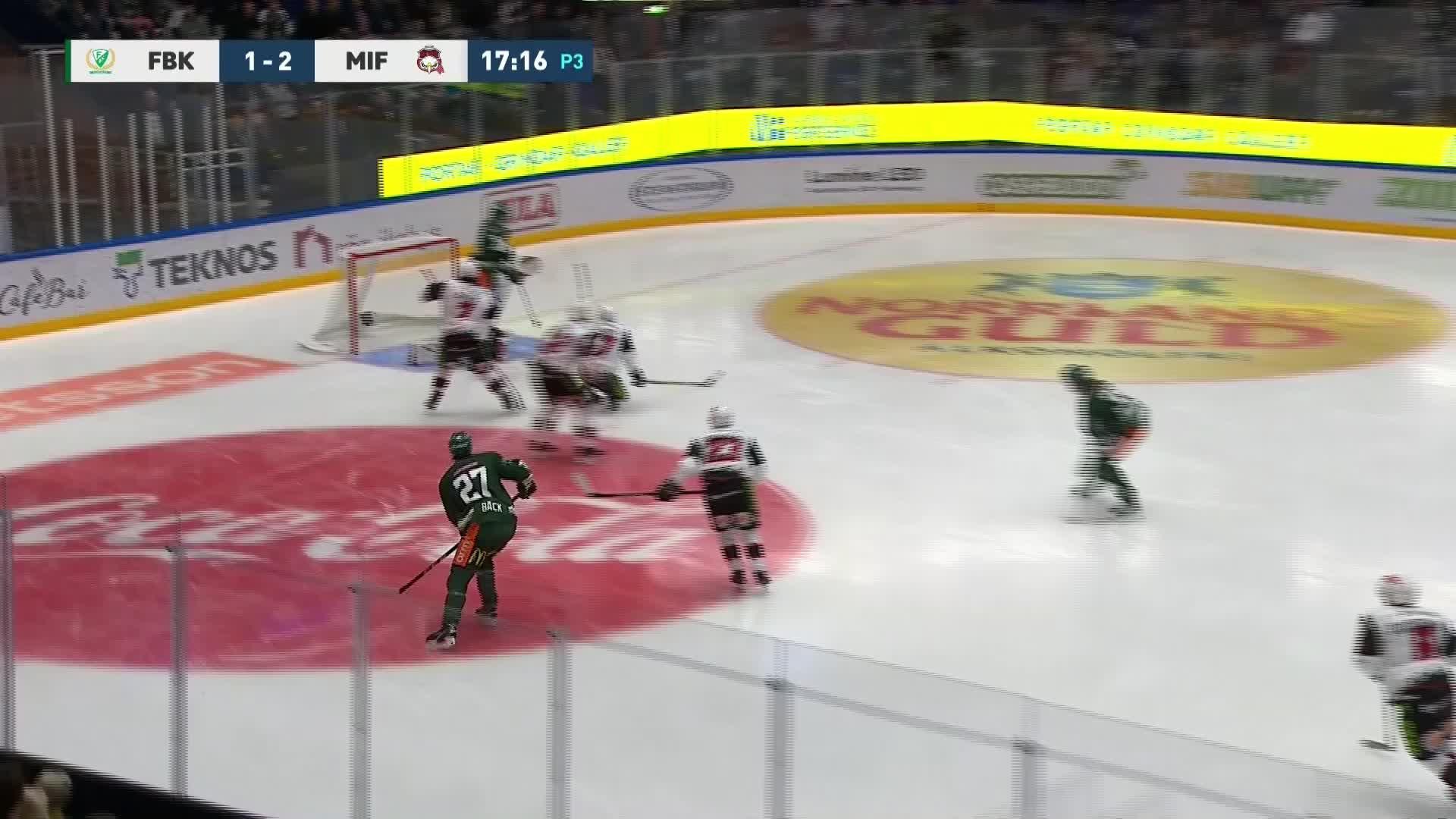 Färjestad BK - Malmö Redhawks 2-2
