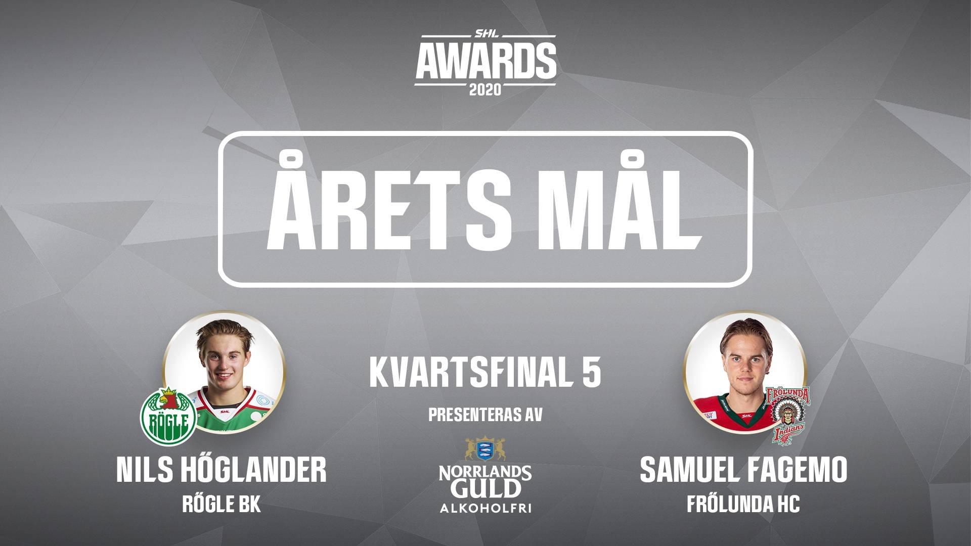 Årets mål 2019/2020 - Kvartsfinal 5