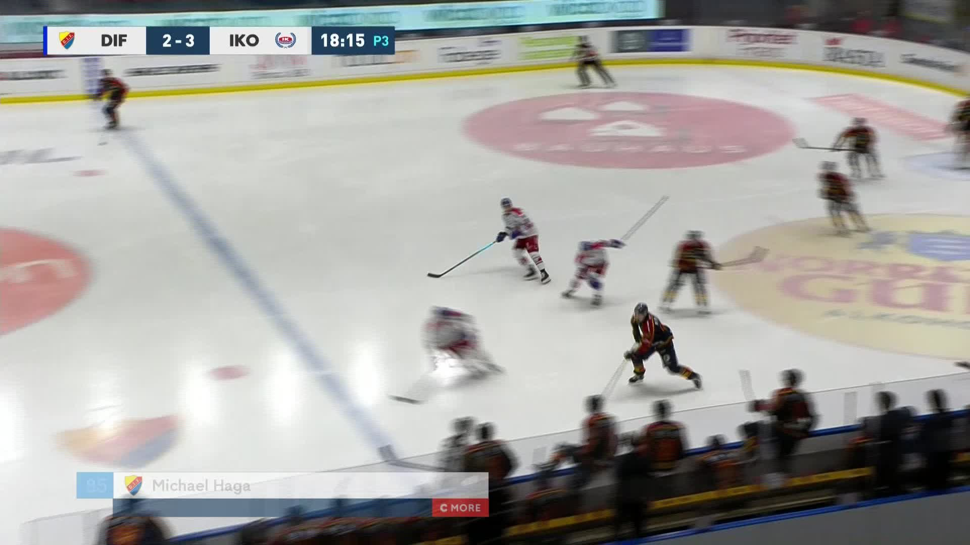 Djurgården Hockey - IK Oskarshamn 3-3