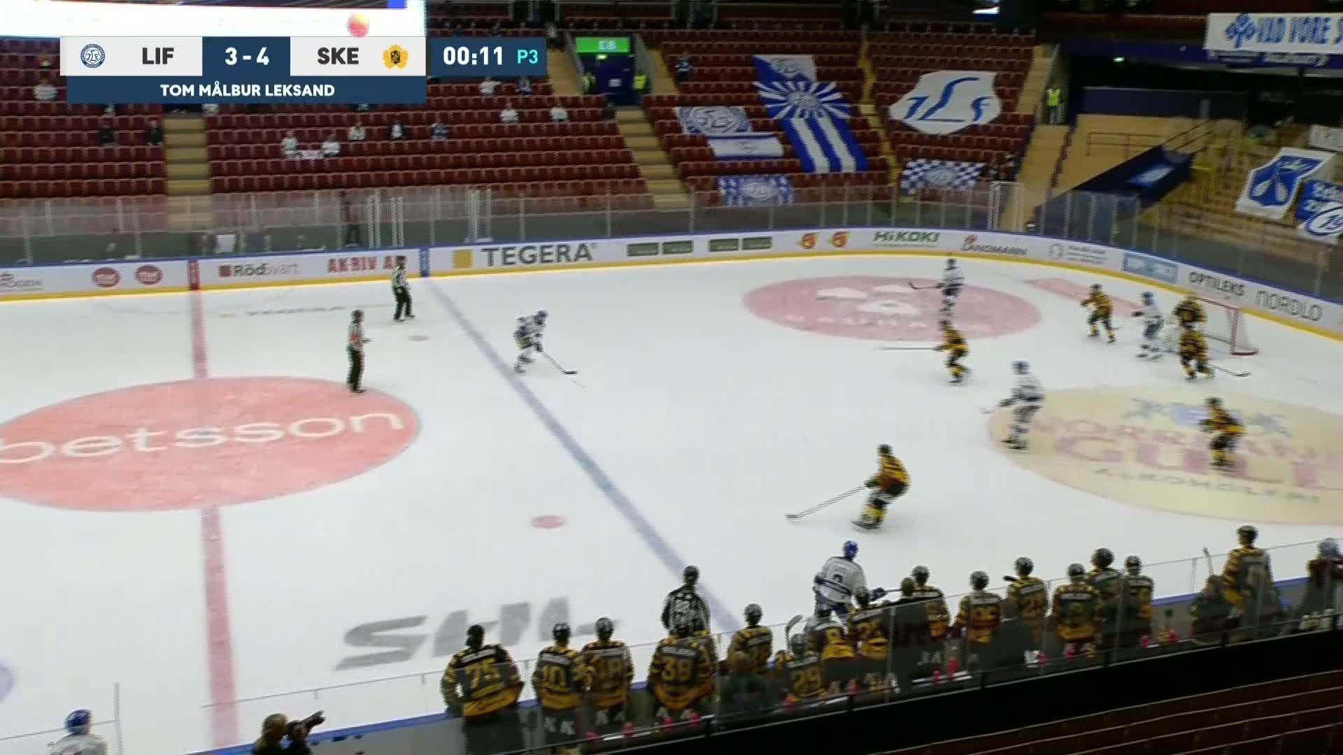 Leksands IF - Skellefteå AIK 4-4