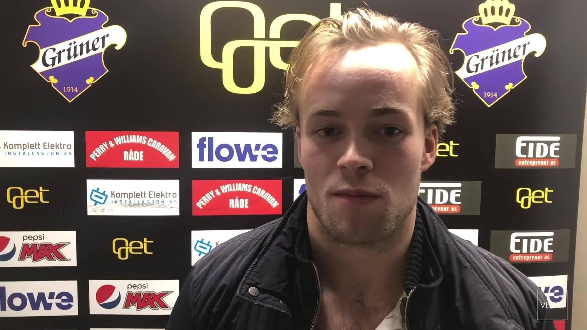 Jesper Öhrvall etter Sparta-tapet