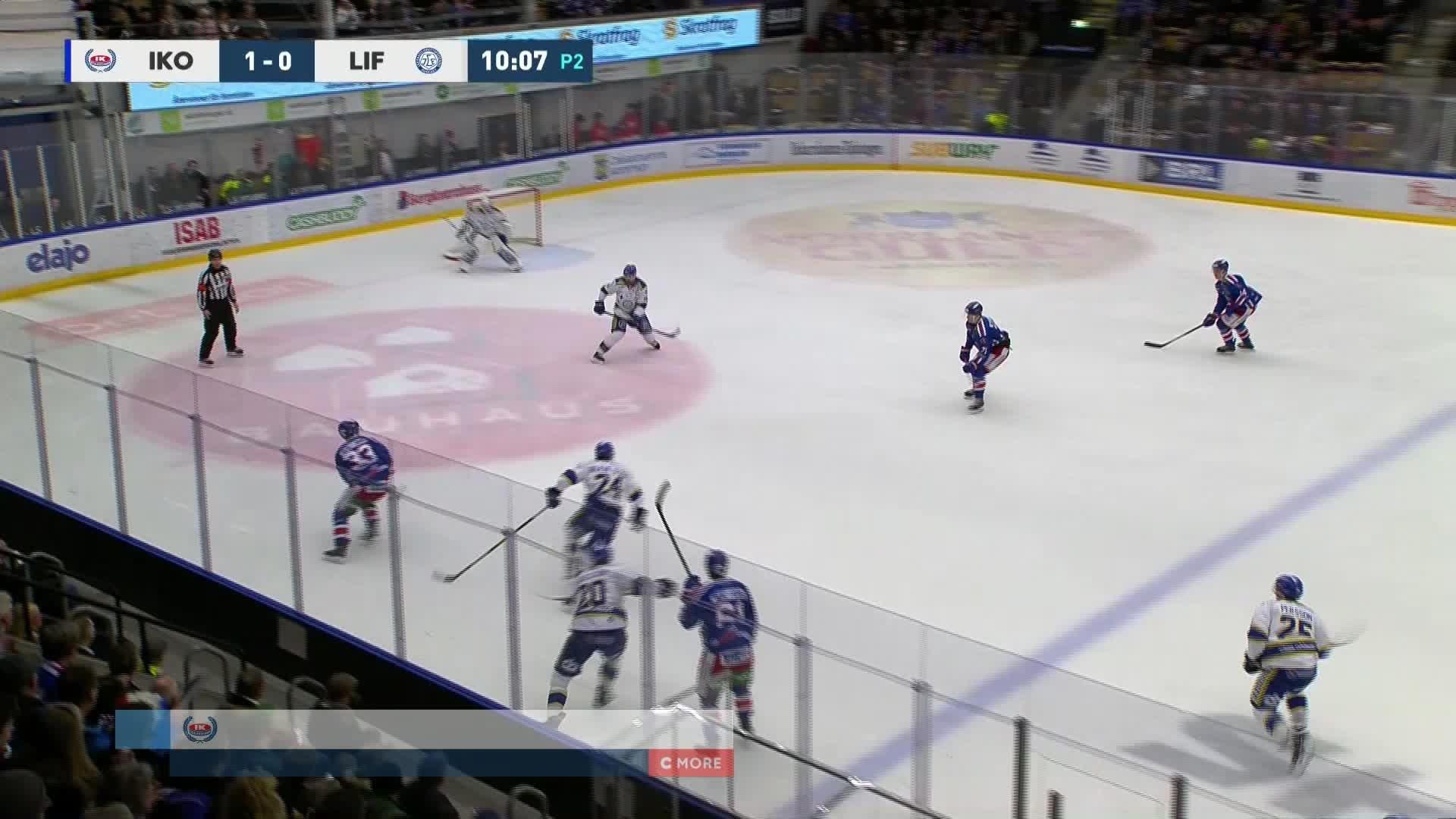 IK Oskarshamn - Leksands IF 2-0