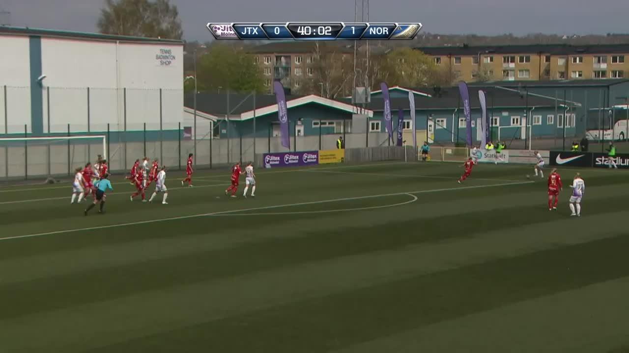Highlights: Jitex Mölndal BK-IFK Norrköping