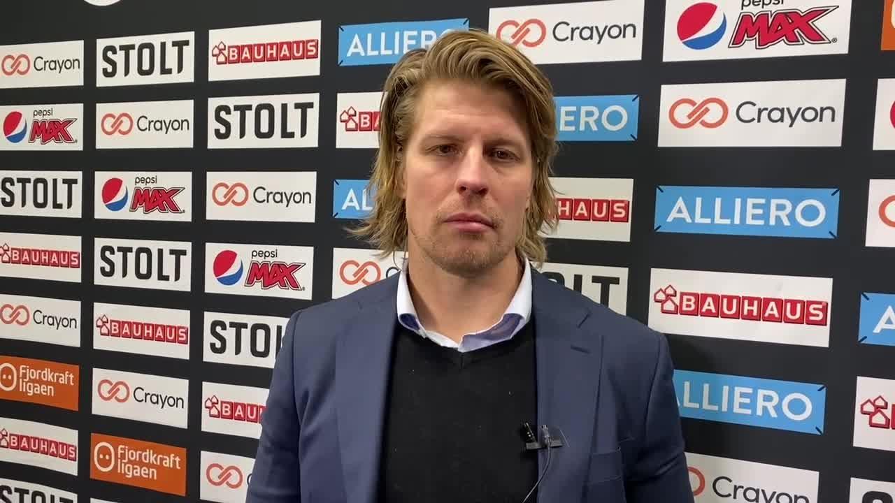 Morten Ask etter årets første hjemmematch