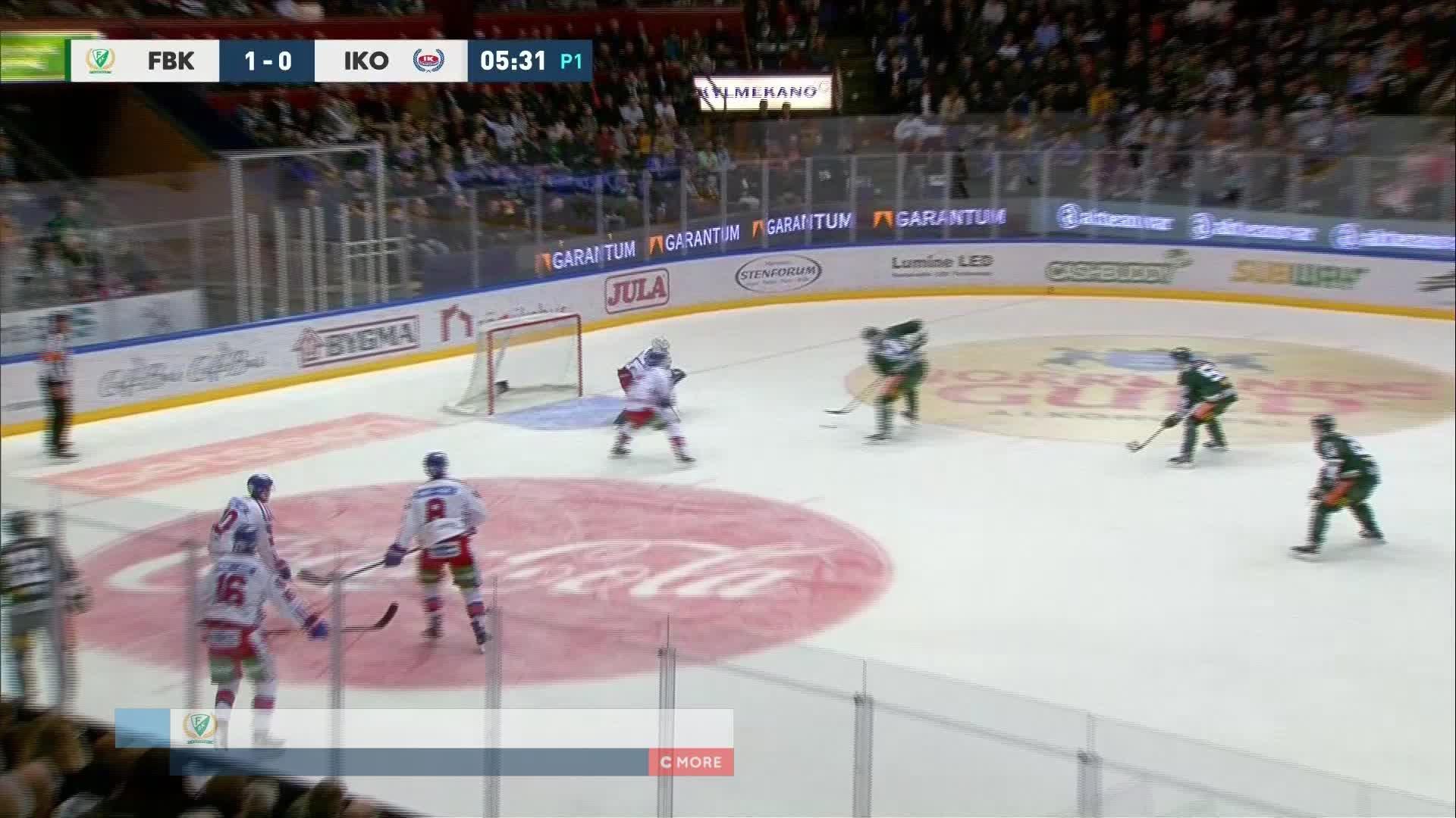 Färjestad BK - IK Oskarshamn 2-0