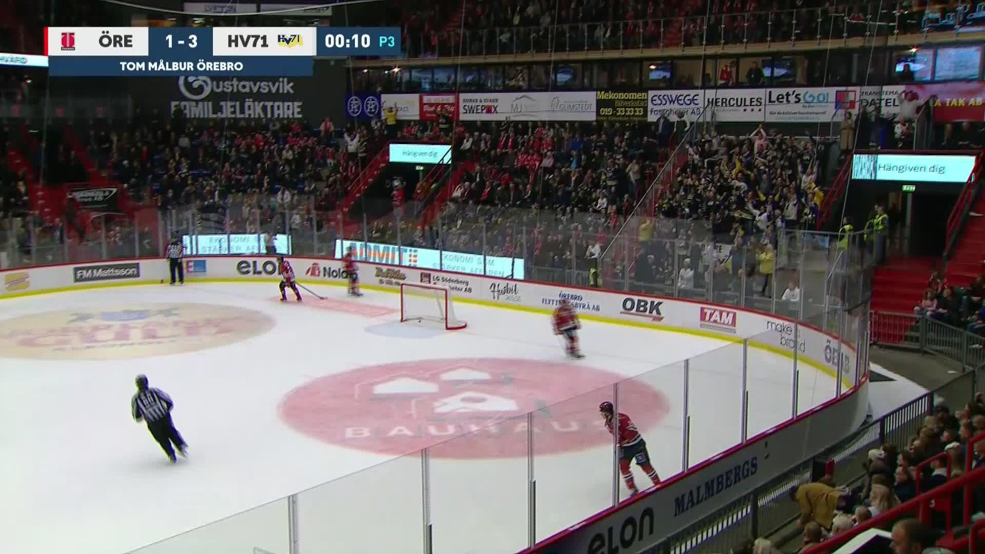 Örebro Hockey - HV71 1-3