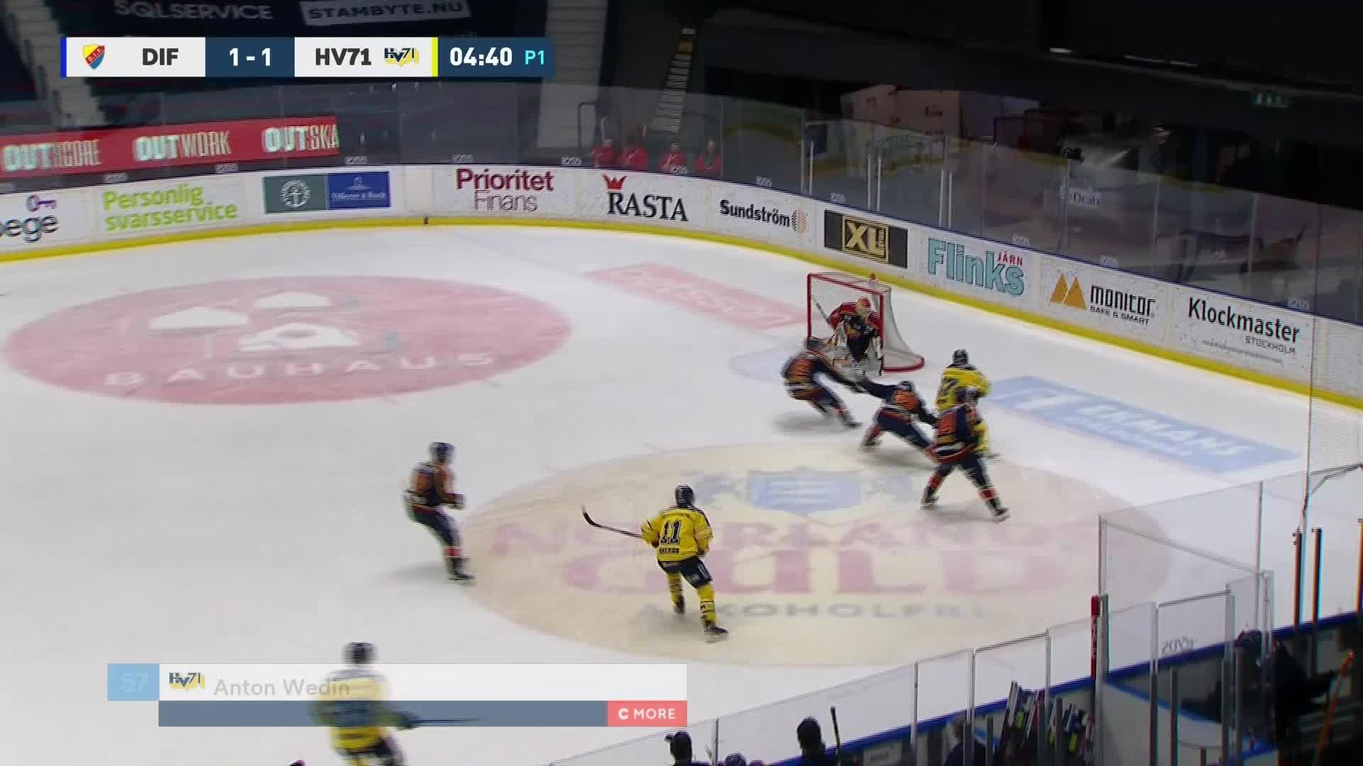 Djurgården Hockey - HV71 1-2
