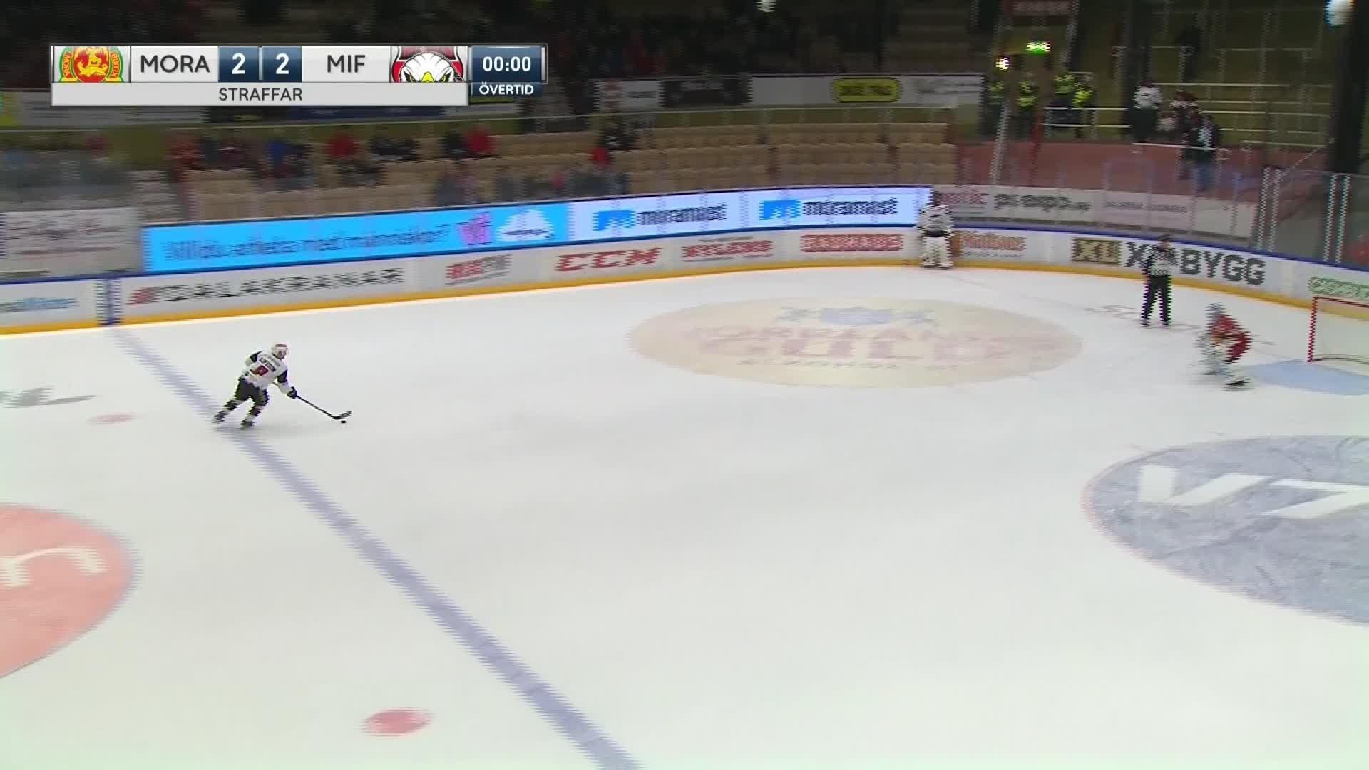 Mora IK - Malmö Redhawks 2-3
