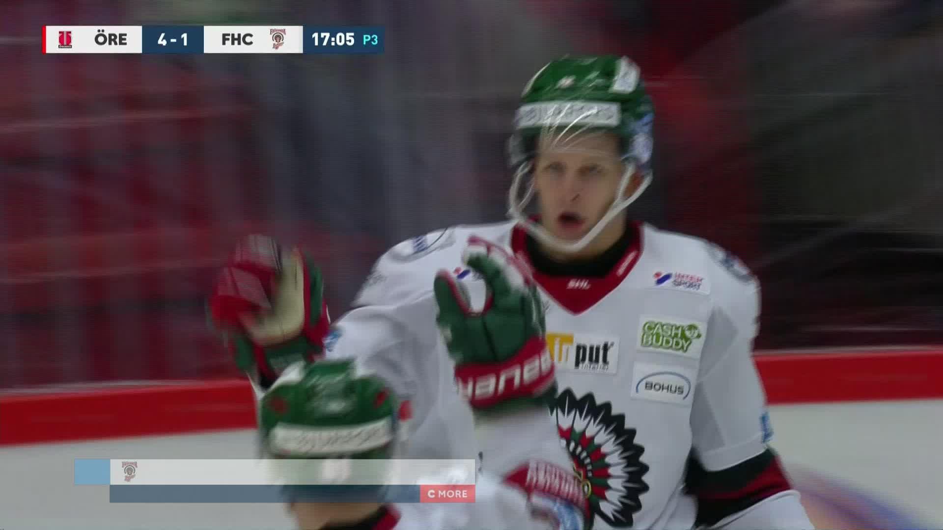 Örebro Hockey - Frölunda HC 4-1