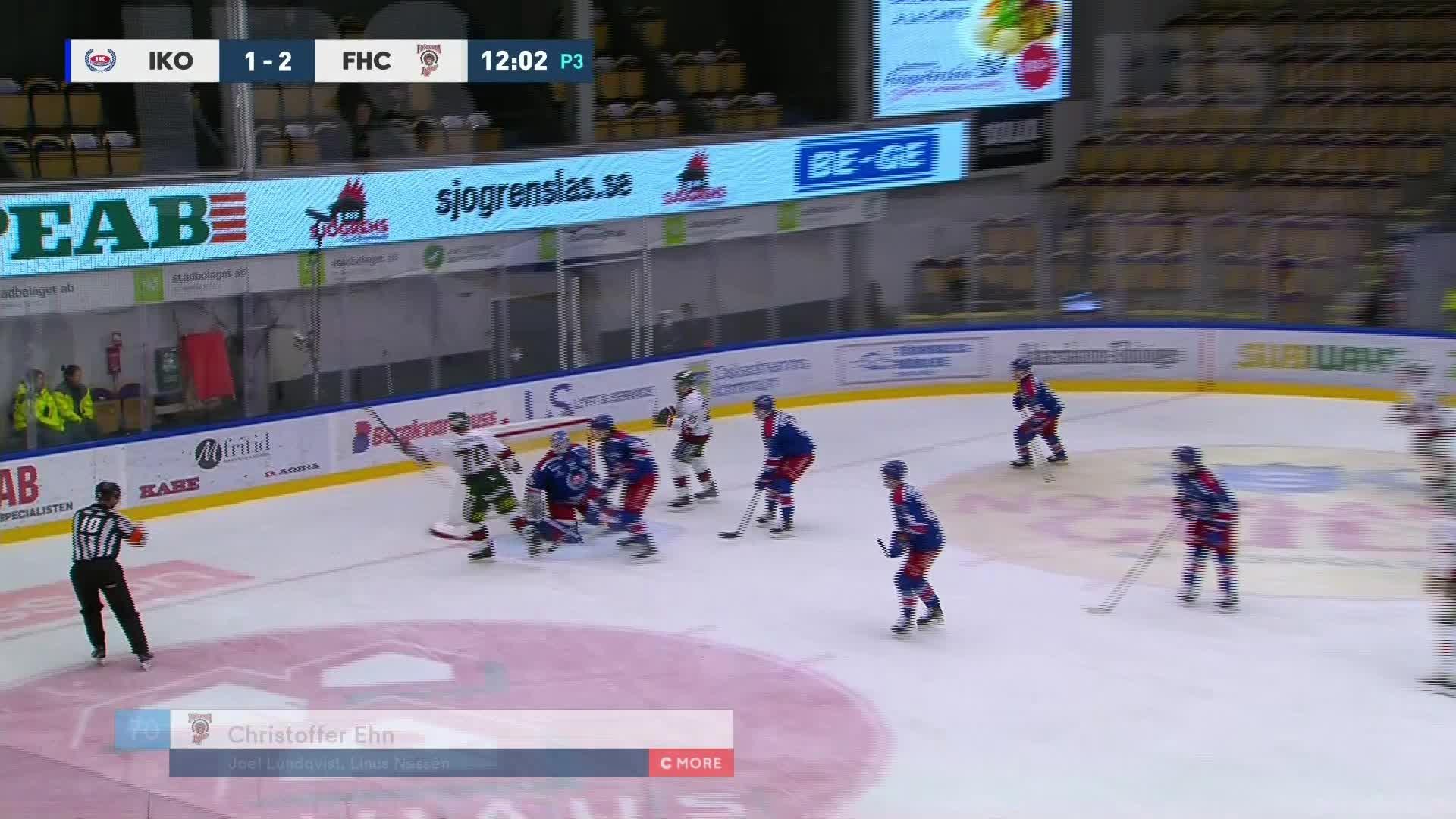 IK Oskarshamn - Frölunda HC 1-3