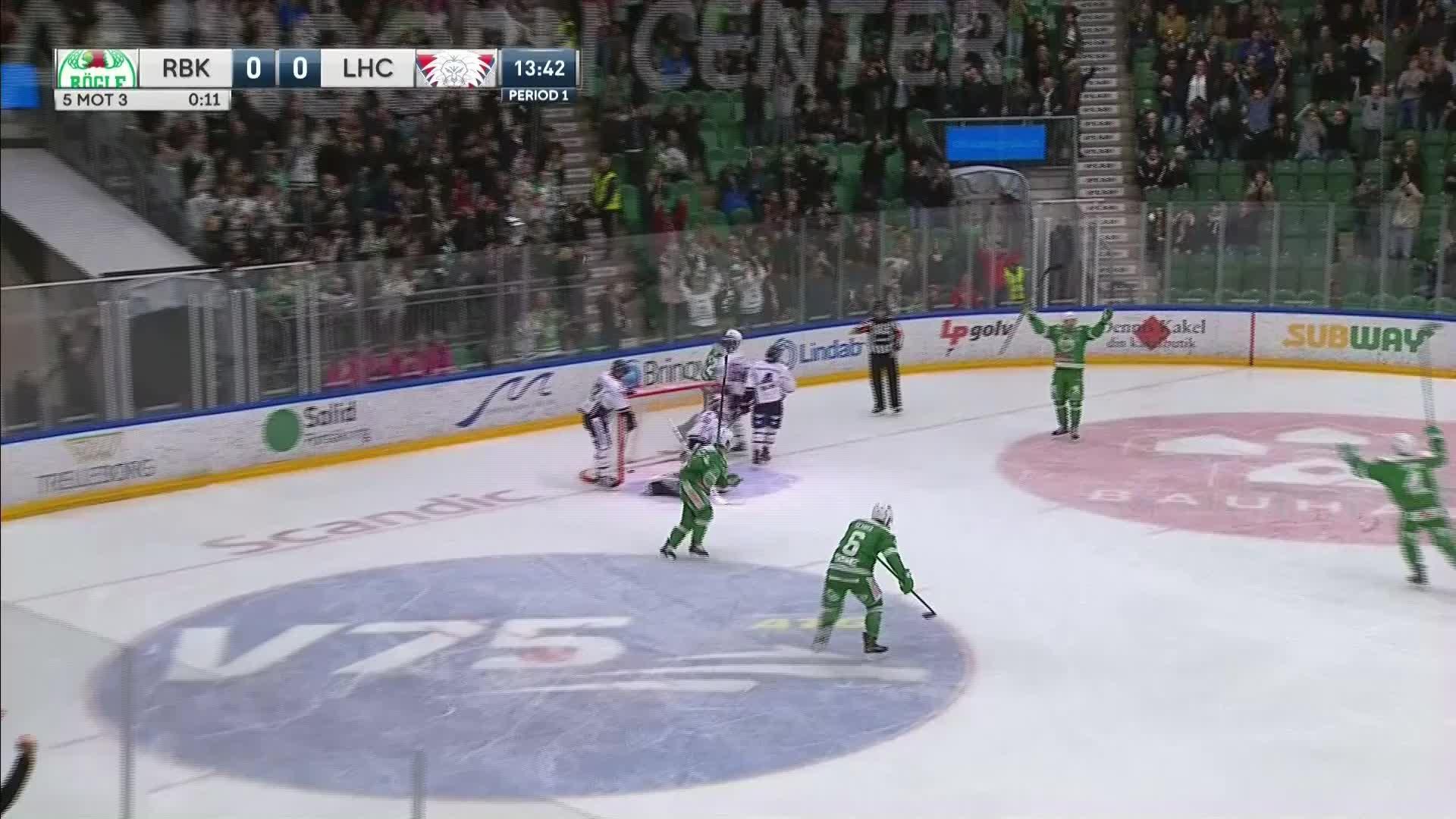 Rögle BK - Linköping HC 1-0