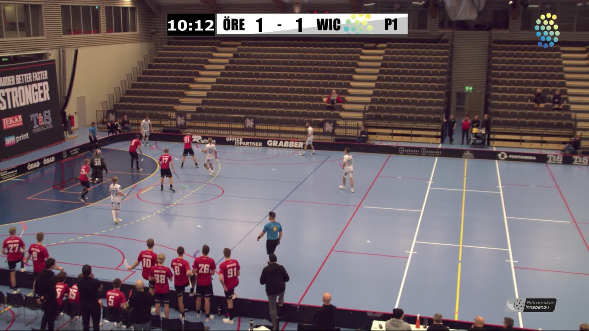 Highlights IBF Örebro - Warberg IC