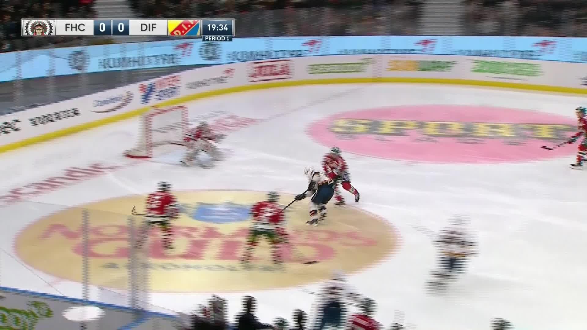 Frölunda HC - Djurgården Hockey 0-1