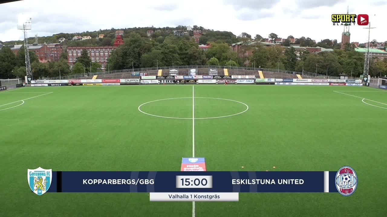Highlights: Kopparbergs/Gbg - Eskilstuna 5 sept