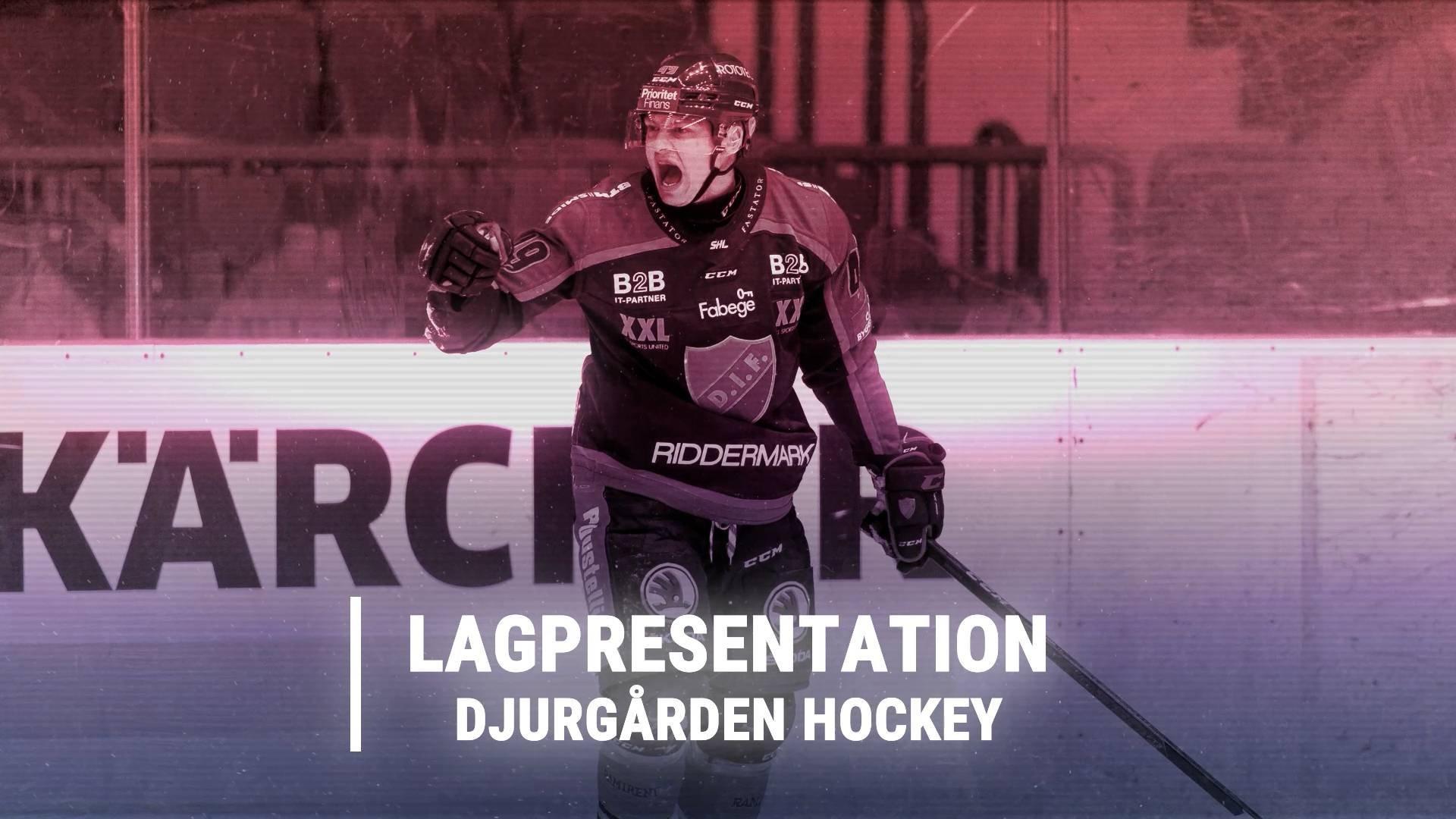 Lagpresentation Djurgården Hockey