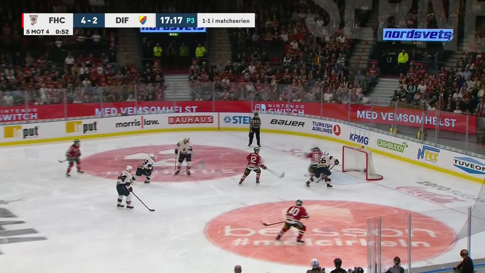 Frölunda HC - Djurgården Hockey 5-2