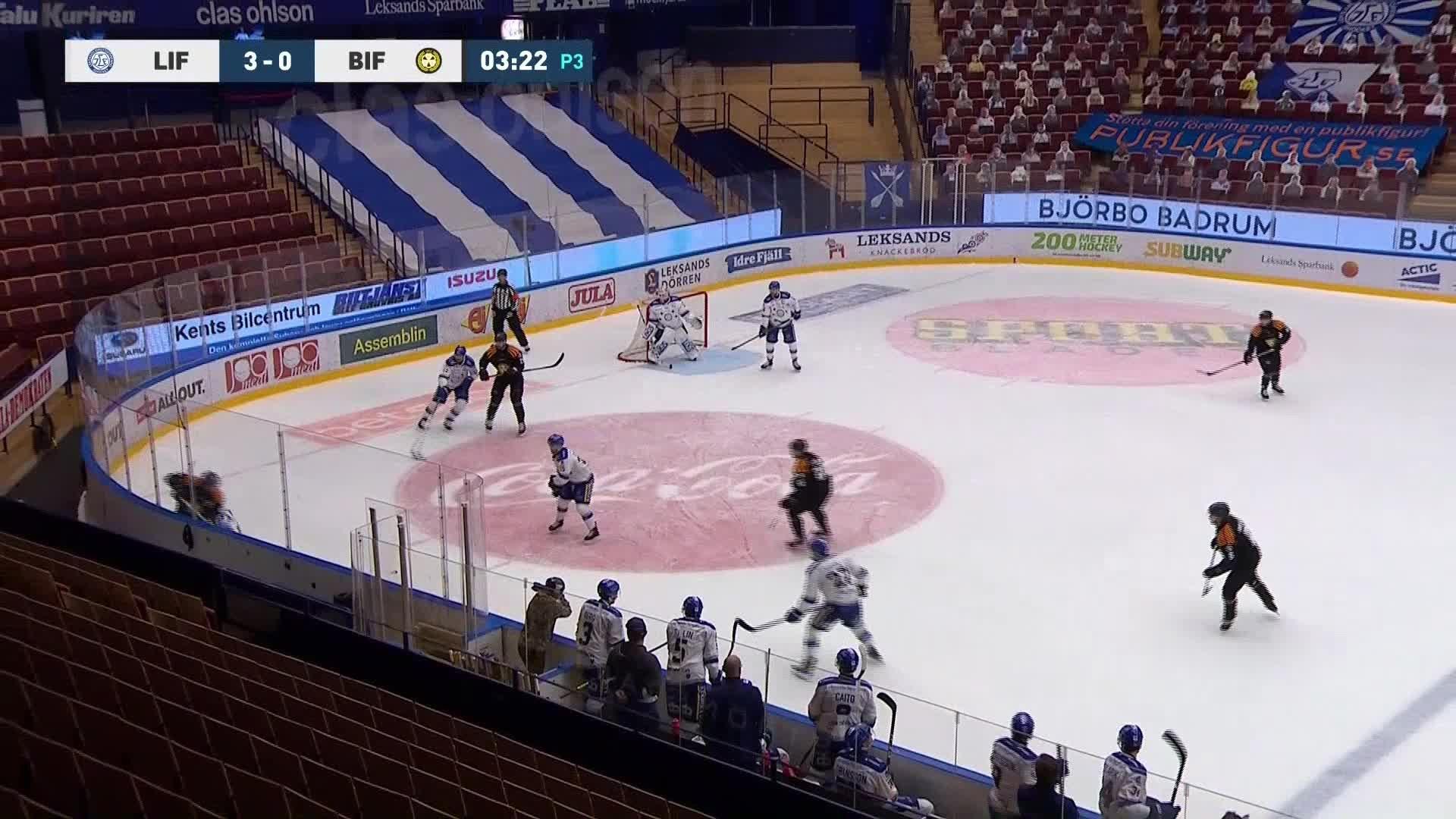 Leksands IF - Brynäs IF 3-1