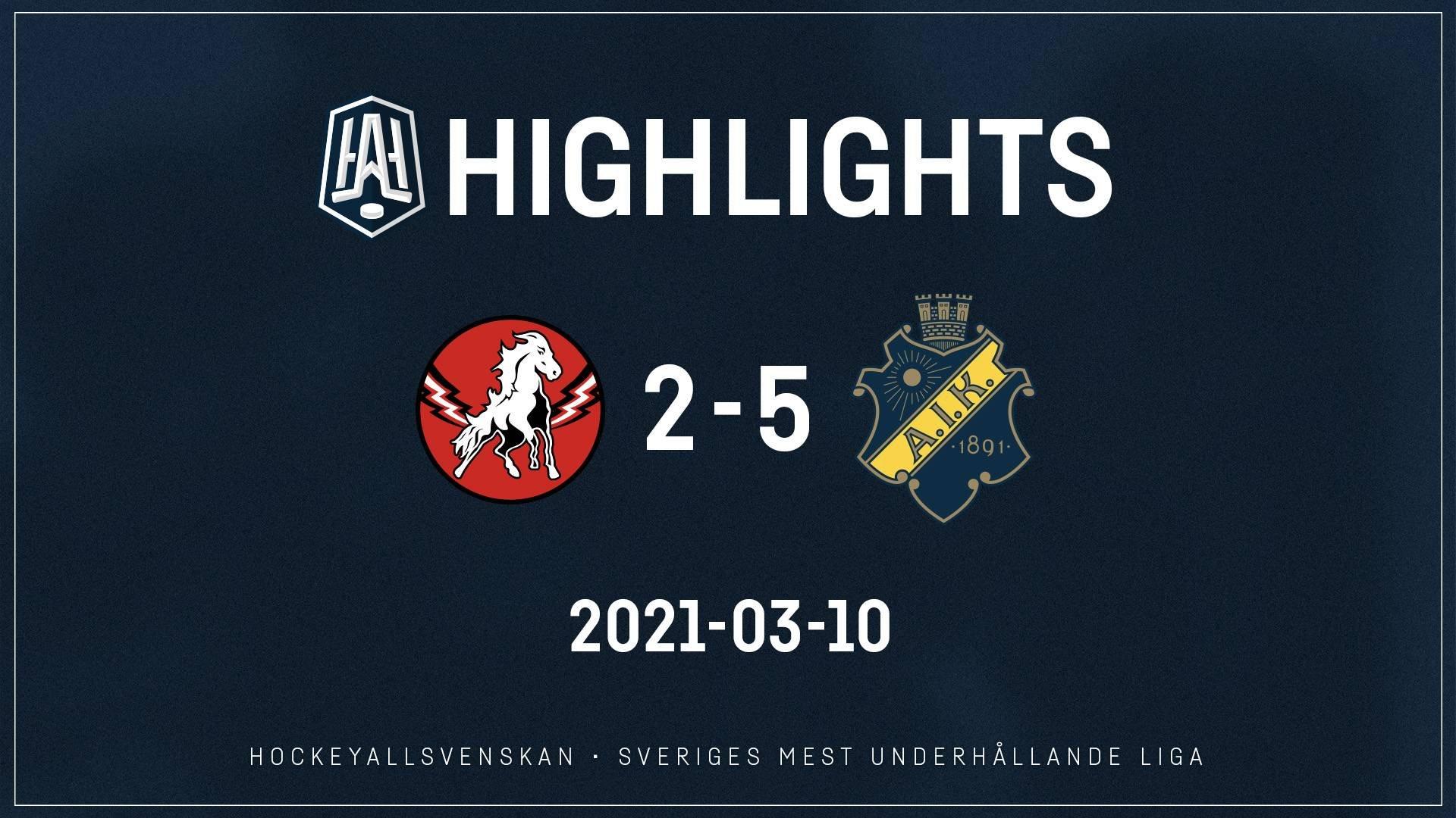 2021-03-10 Vita Hästen - AIK 2-5