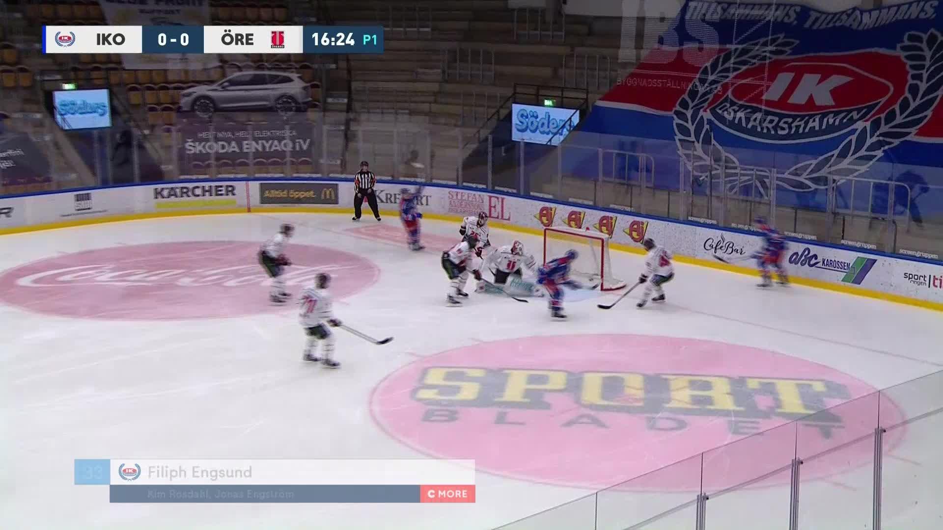 IK Oskarshamn - Örebro Hockey 1-0