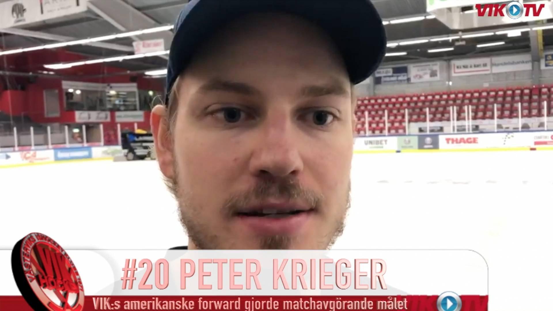 VIK-TV: Omklädningsrumsjubel med Peter Krieger-intervju efter VIK:s bortaseger mot Kristianstad