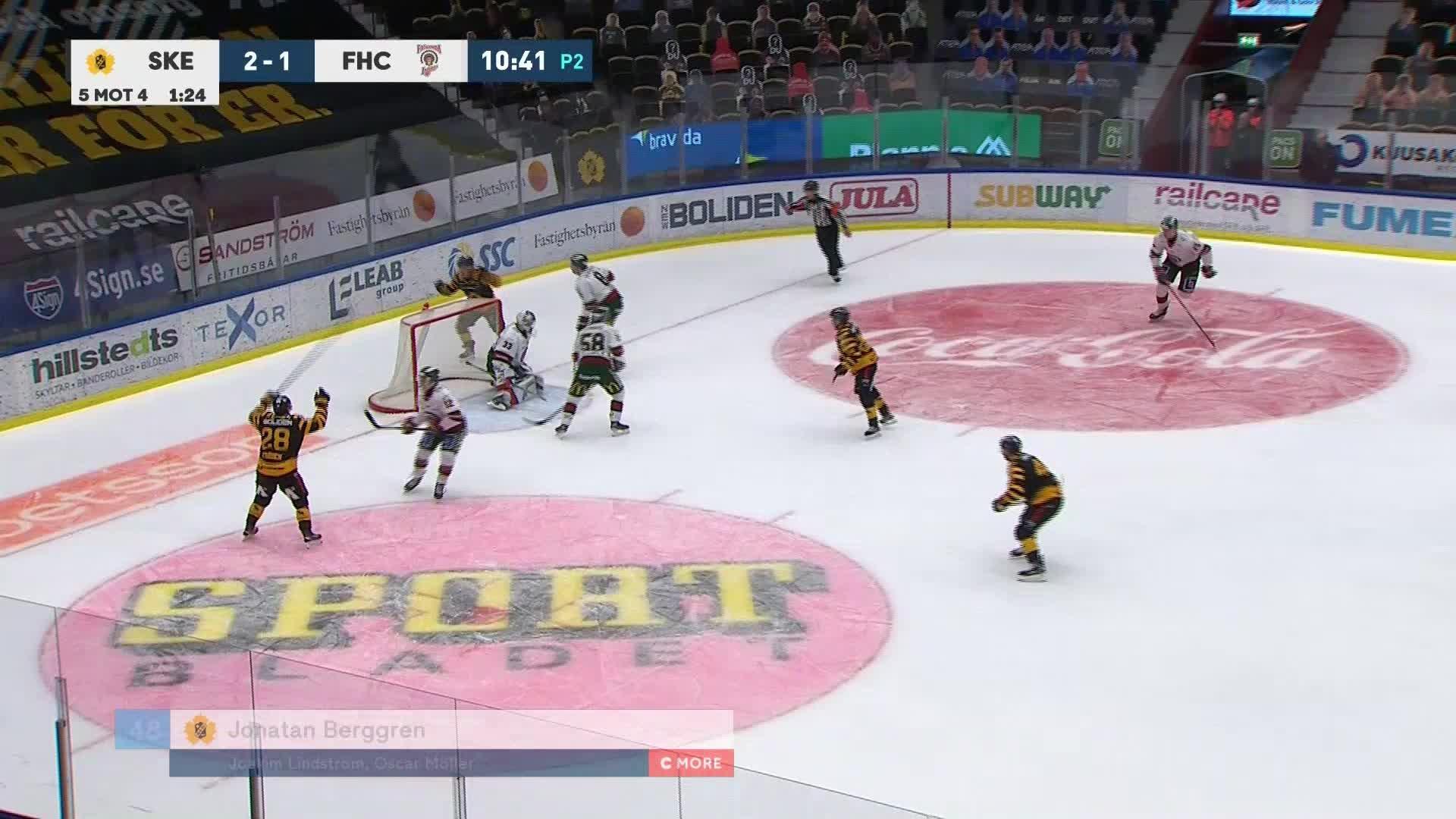 Skellefteå AIK - Frölunda HC 3-1