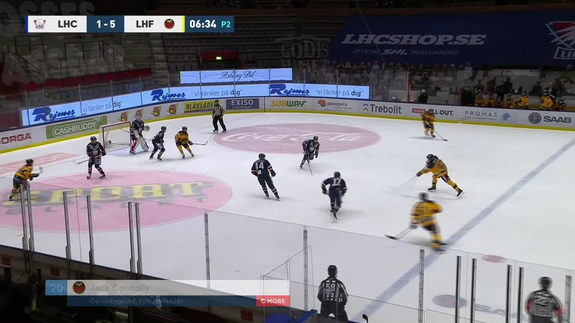 Linköping HC - Luleå Hockey 1-6