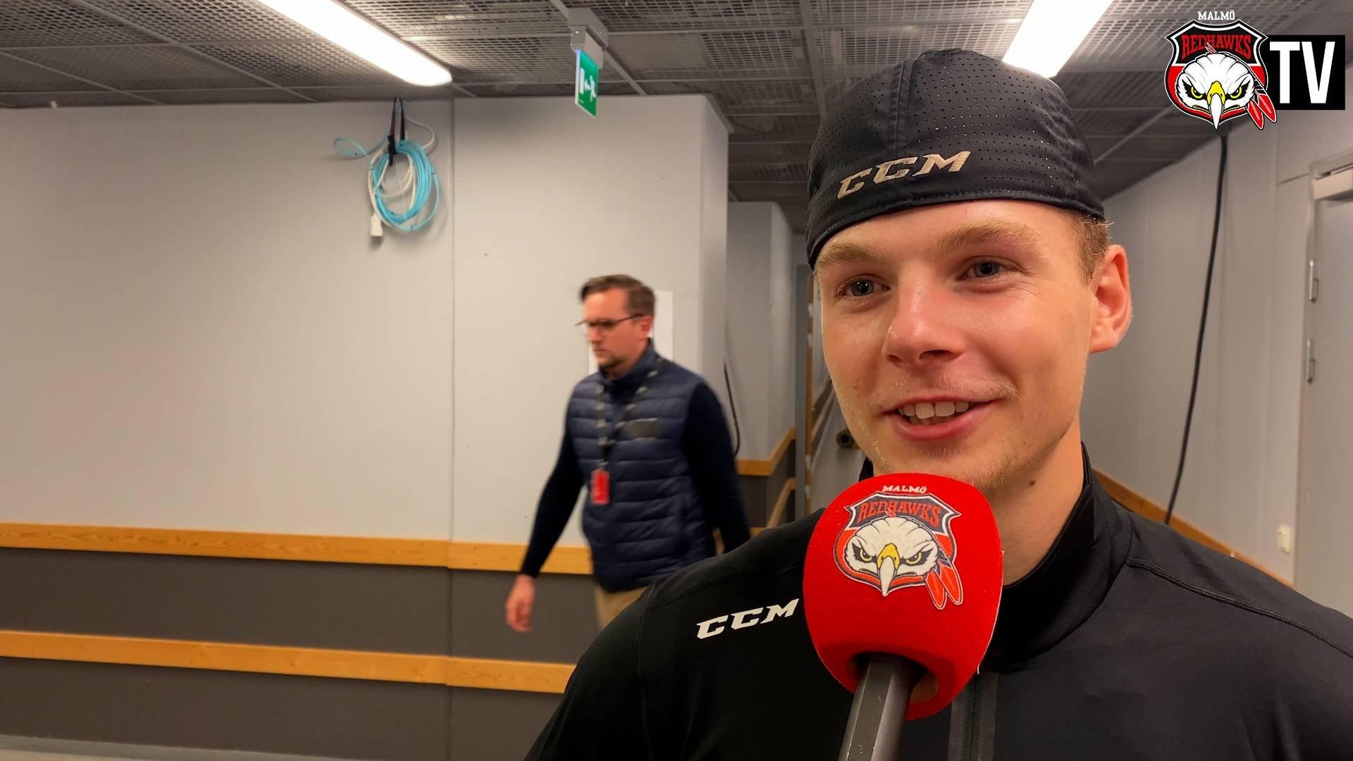 Anton Olsson efter sitt första mål