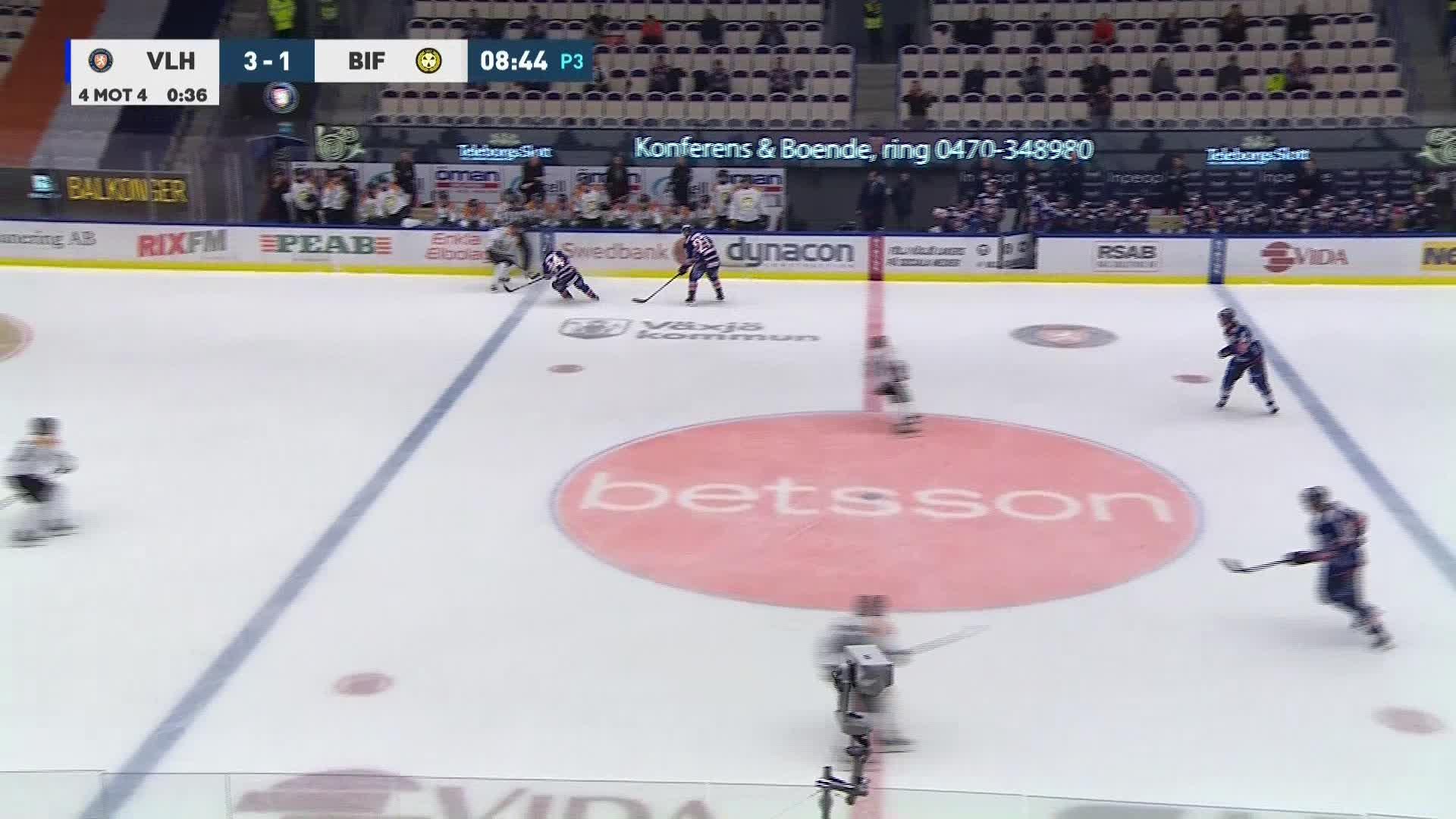 Växjö Lakers - Brynäs IF 4-1