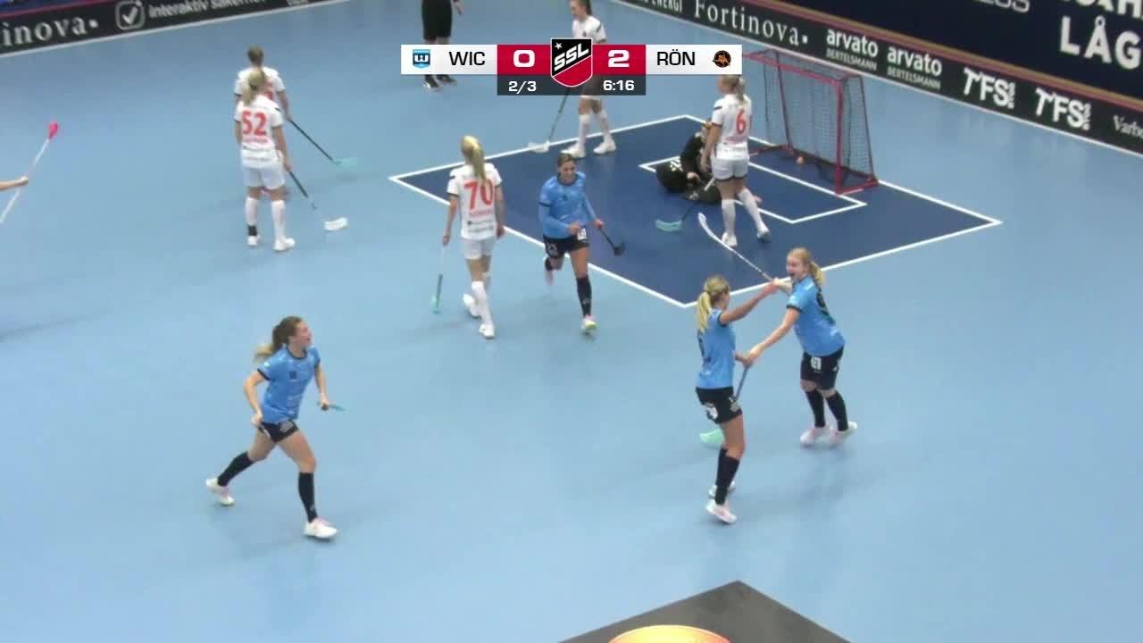 Highlights: Warberg IC-Västerås Rönnby IBK