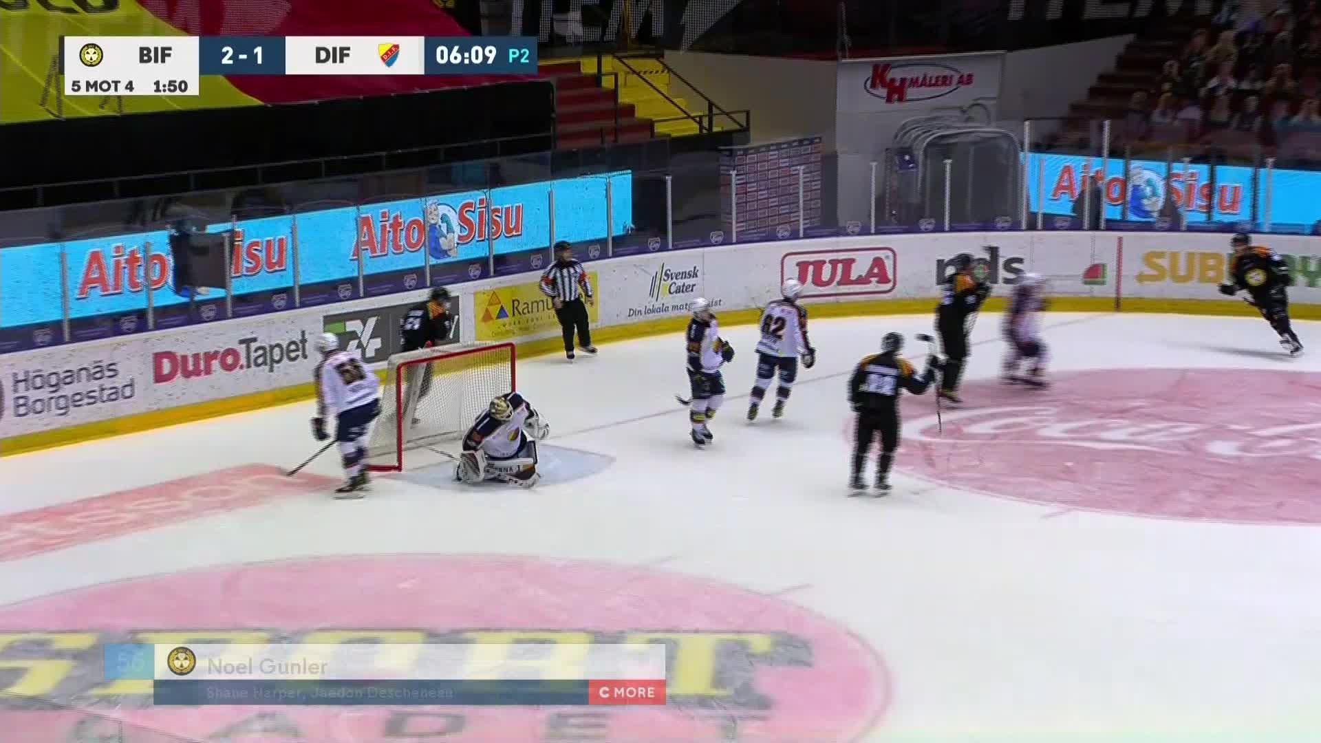 Brynäs IF - Djurgården Hockey 3-1
