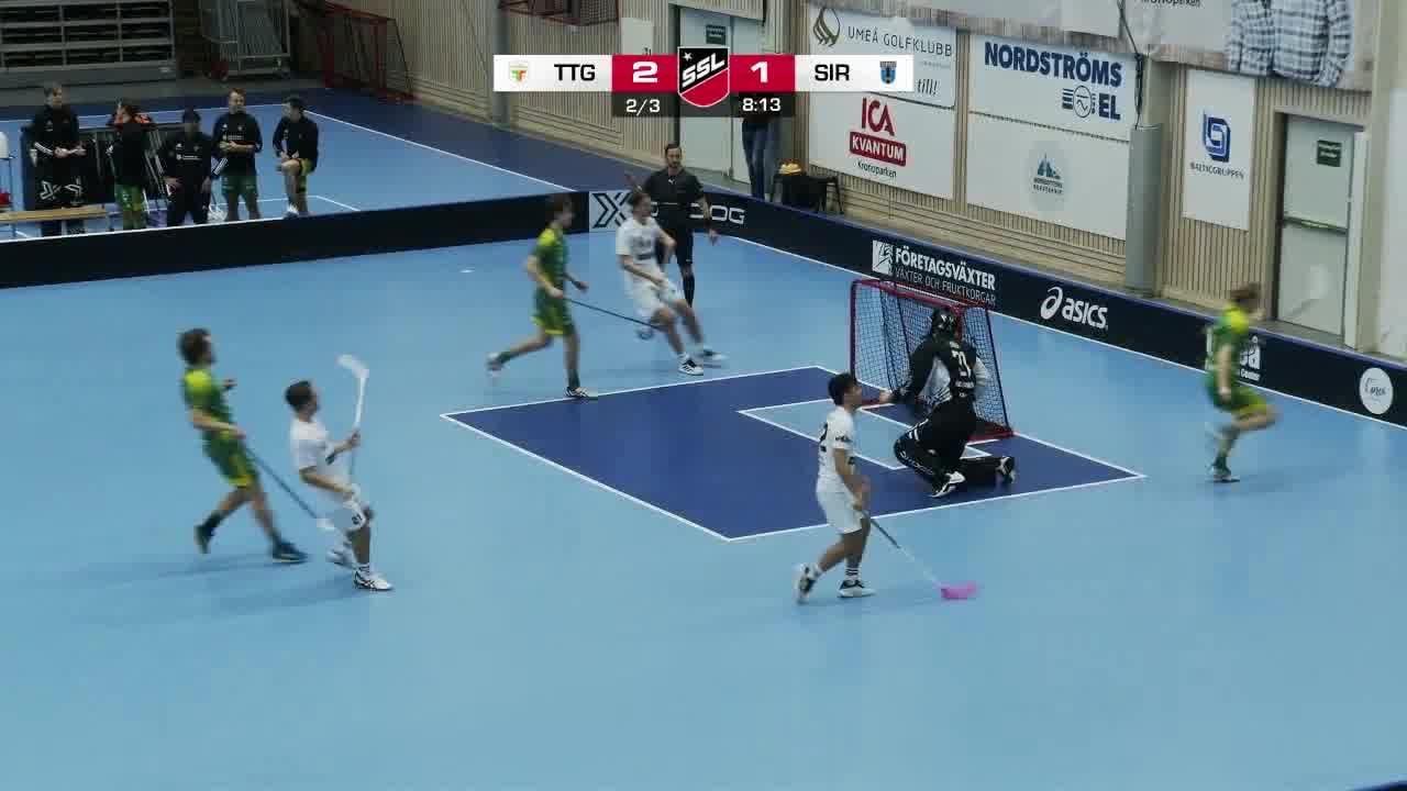 Highlights: Team Thorengruppen - Sirius Innebandy