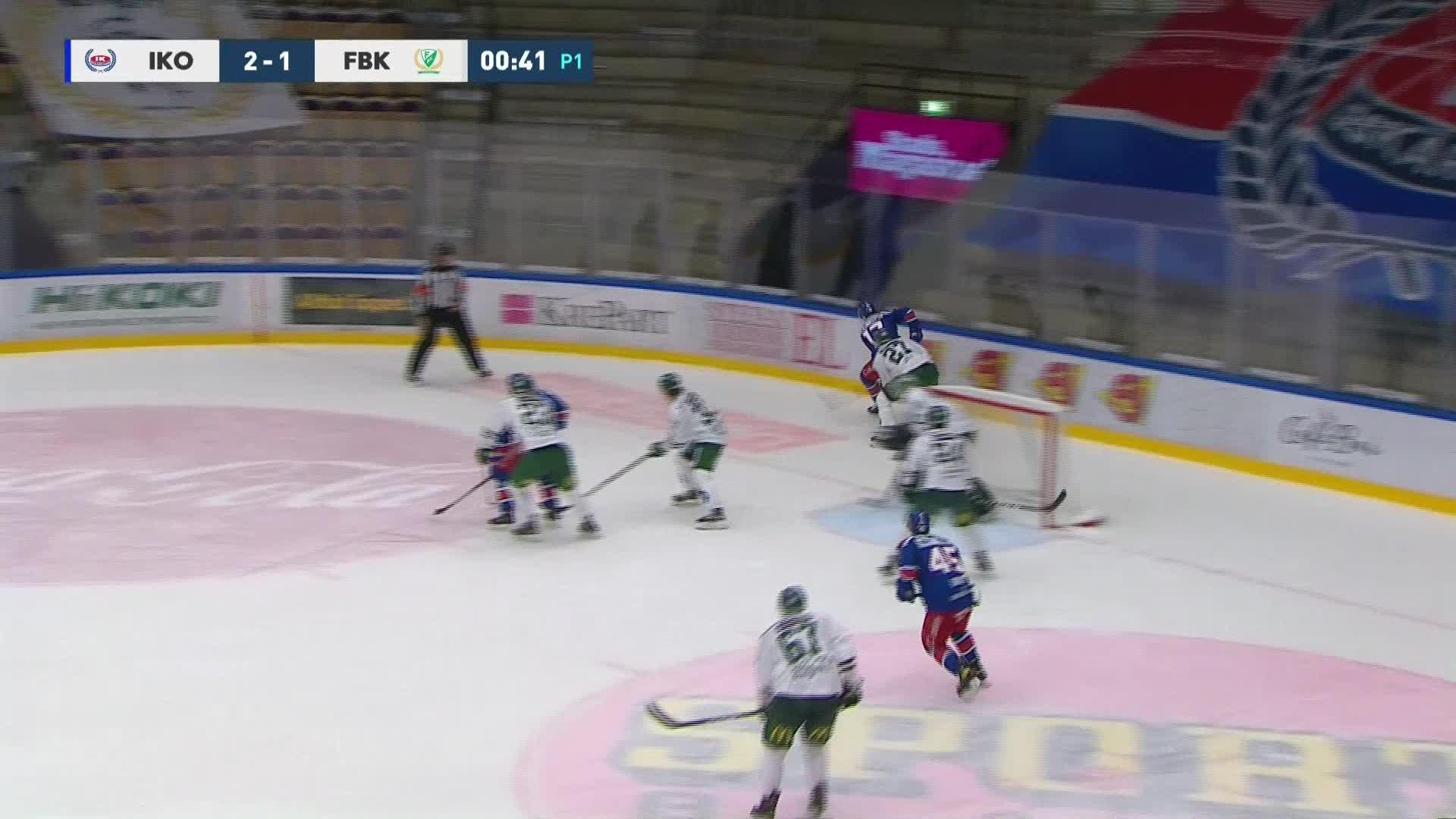 IK Oskarshamn - Färjestad BK 3-1