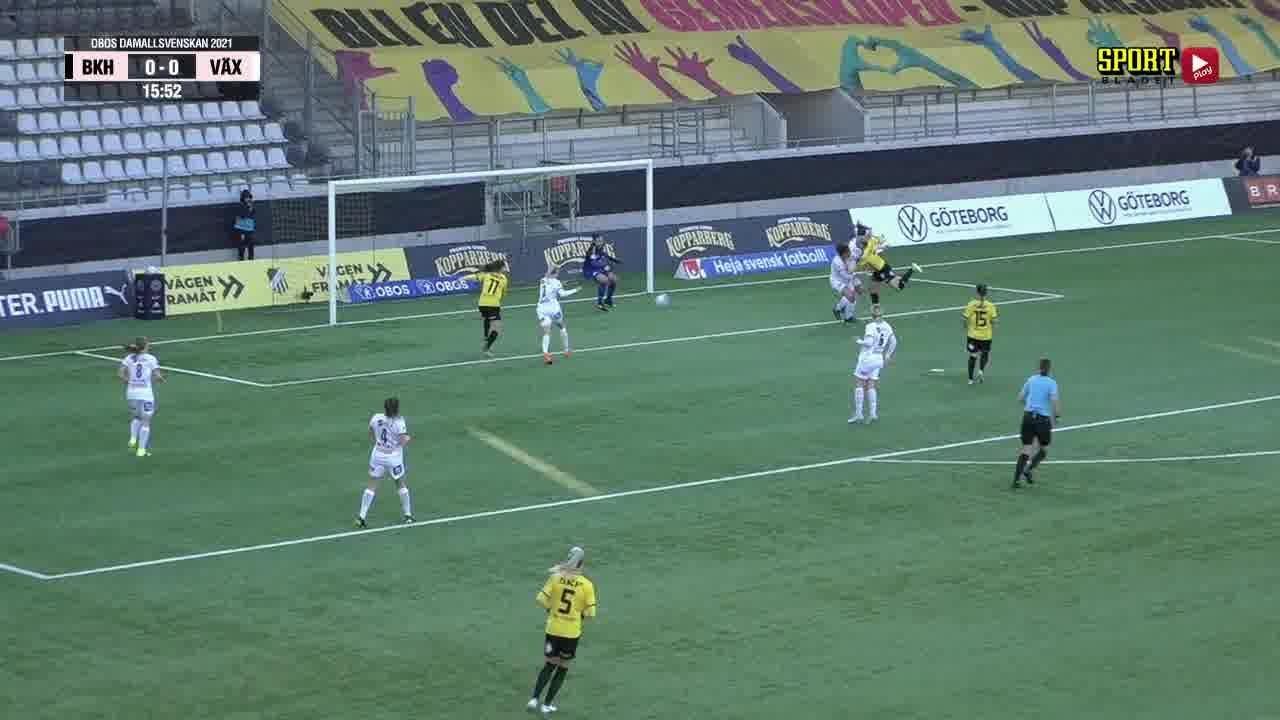Highlights: BK Häcken - Växjö DFF