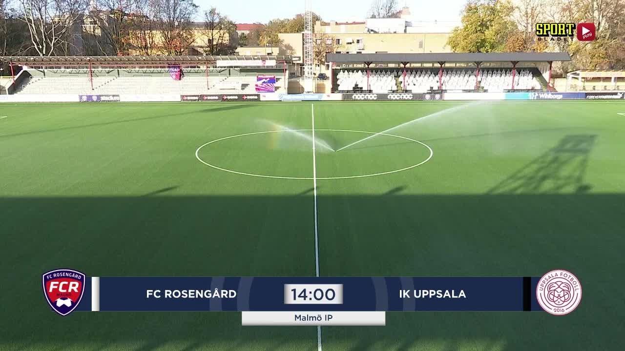 Highlights: Rosengård - Uppsala 1 nov