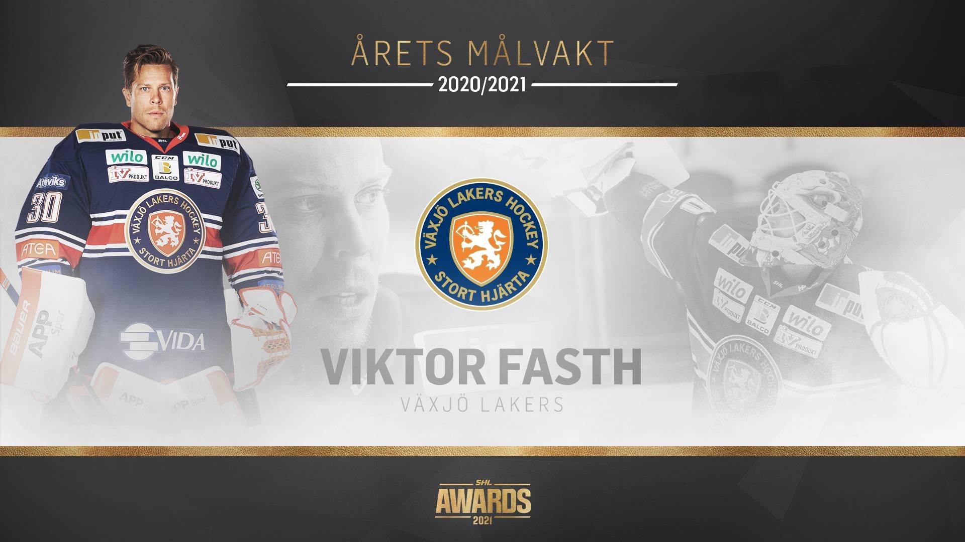 Årets målvakt Viktor Fasth