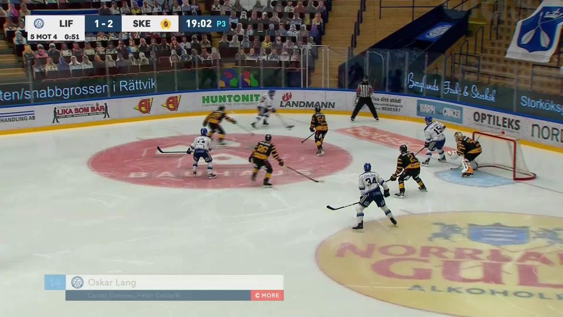 Leksands IF - Skellefteå AIK 2-2