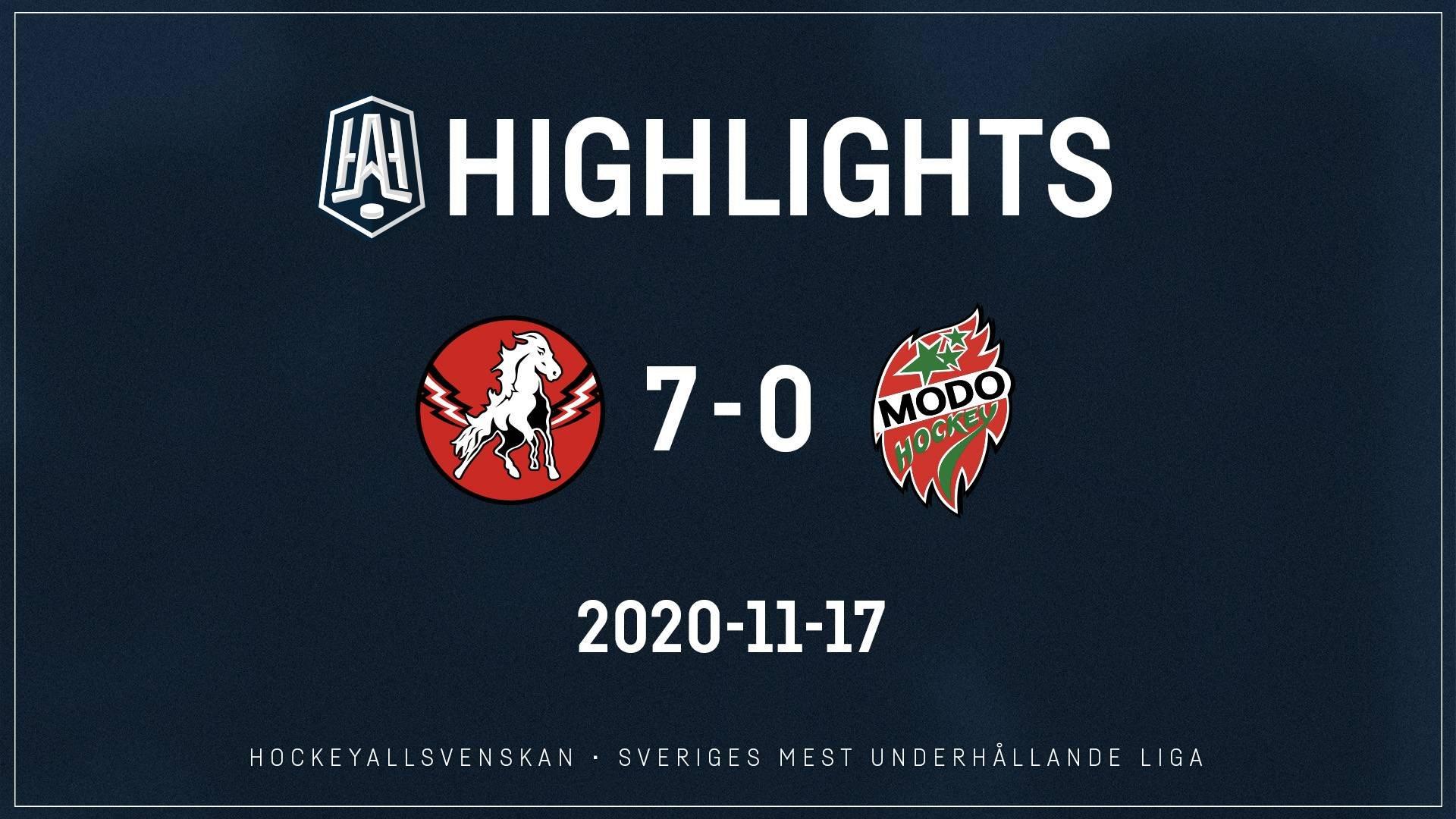 2020-11-17 Vita Hästen - MODO 7-0