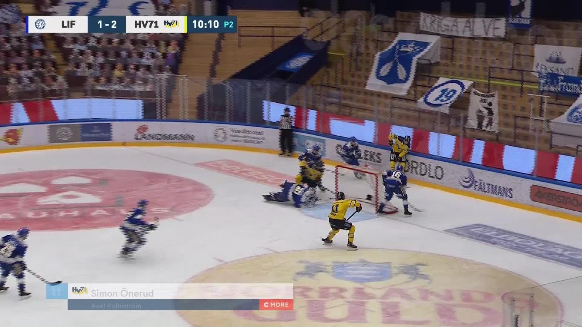 Leksands IF - HV71 1-3