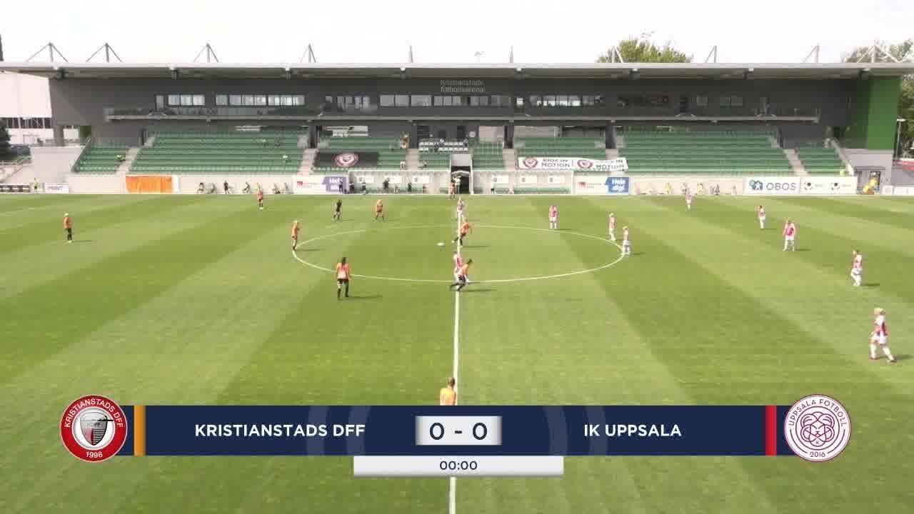 Highlights: Kristianstad – IK Uppsala 19 juli