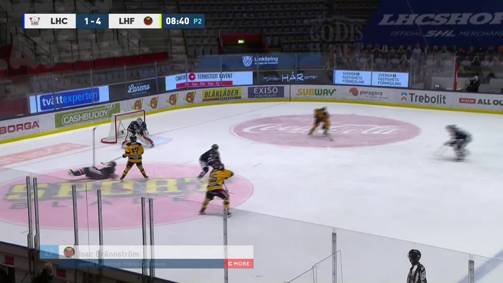 Linköping HC - Luleå Hockey 1-5