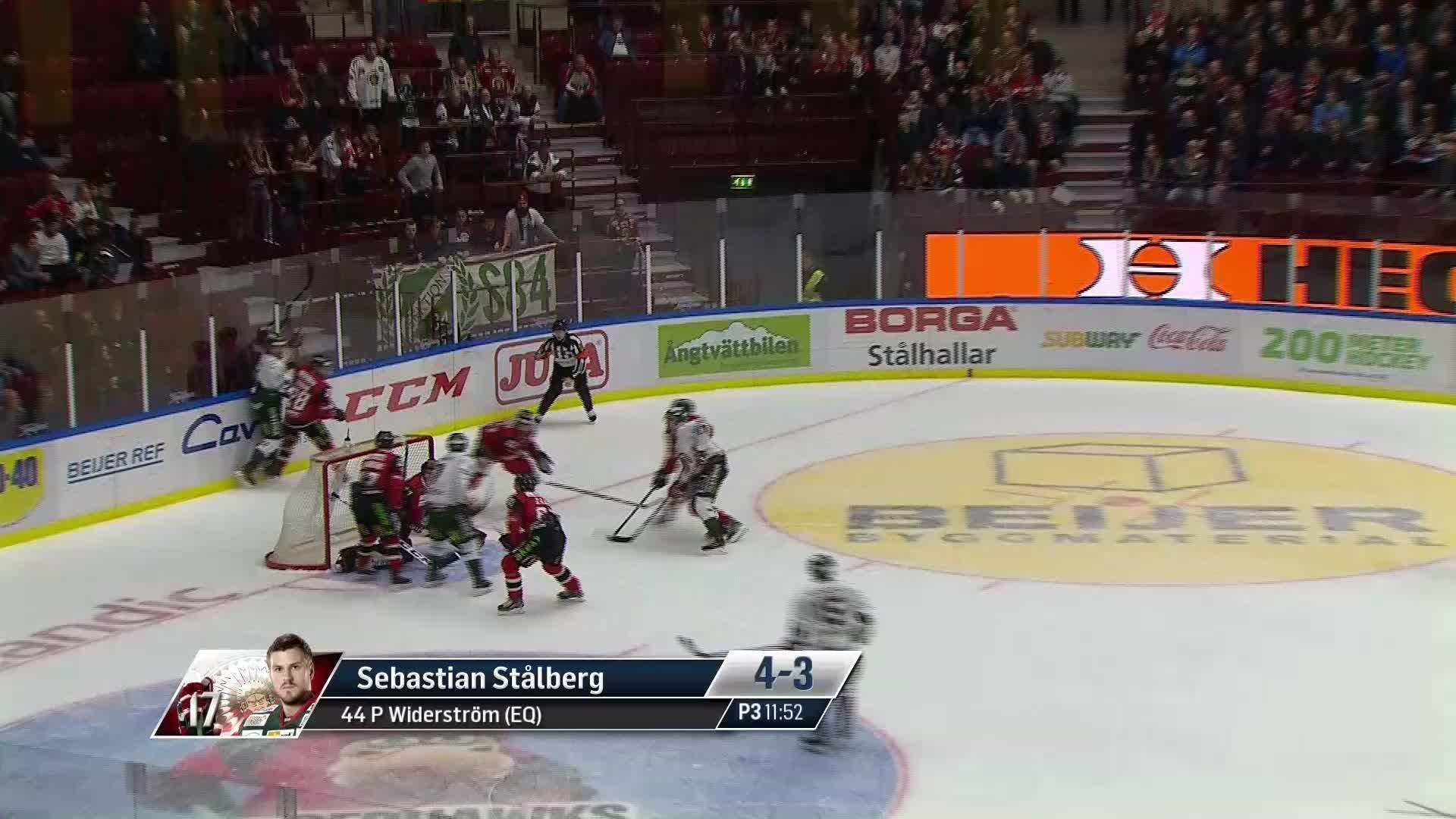 Malmö Redhawks - Frölunda HC 4-3