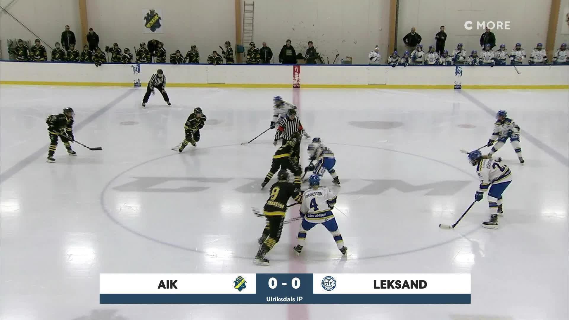 Highlights AIK-Leksand 11 okt
