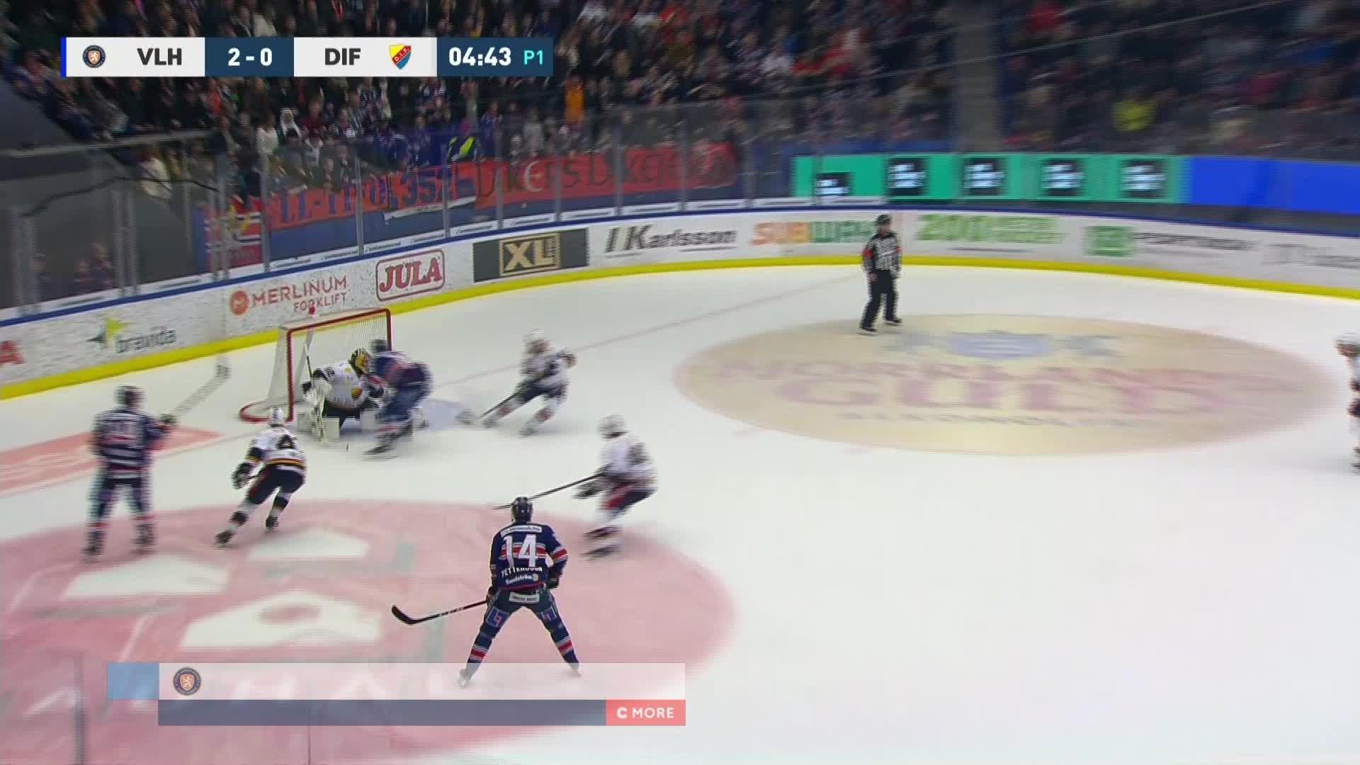 Växjö Lakers - Djurgården Hockey 3-0