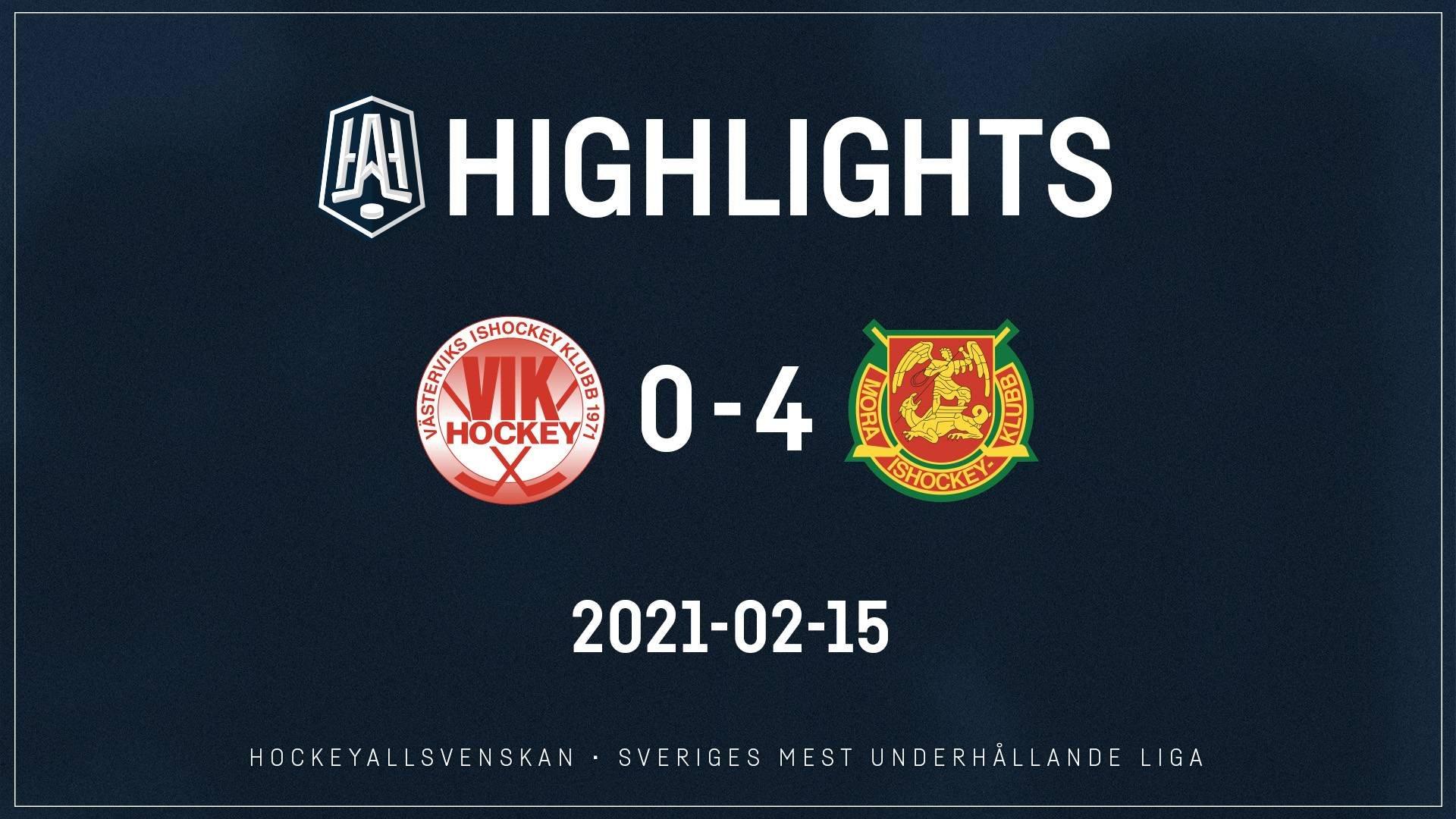 2021-02-15 Västervik - Mora 0-4